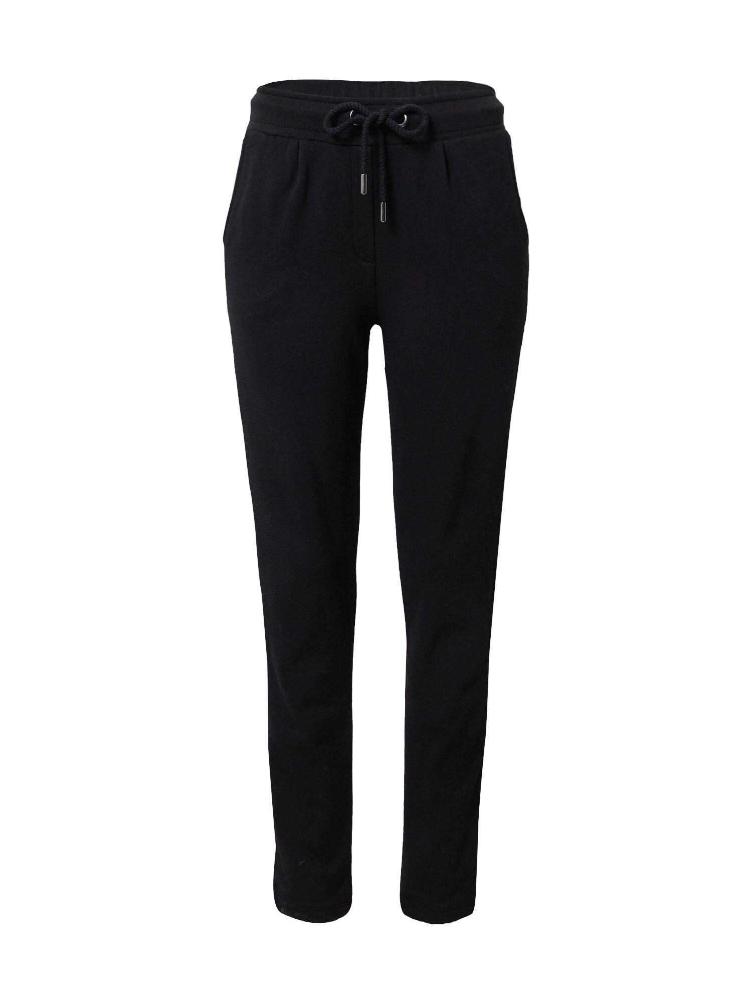 Princess Pantalon à pince  - Noir - Taille: S - female