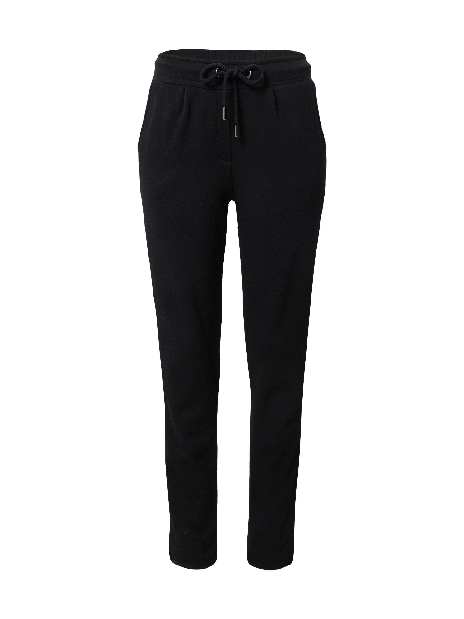 Princess Pantalon à pince  - Noir - Taille: M - female