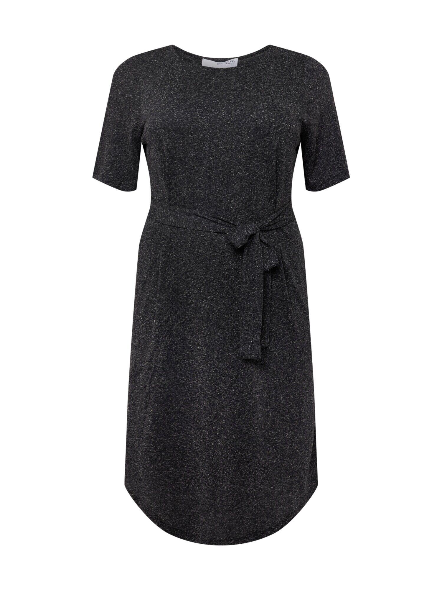 Selected Femme Curve Vêtement de plage 'LIVY'  - Noir - Taille: 46 - female