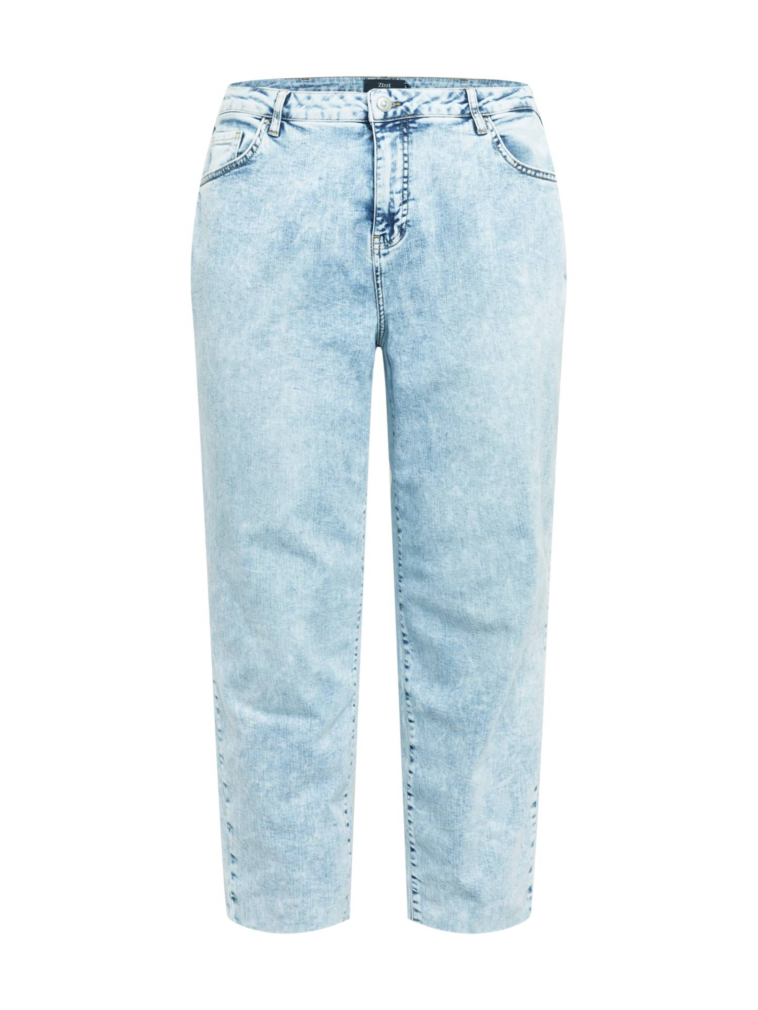 Zizzi Jean 'JAYDEN'  - Bleu - Taille: 46 - female