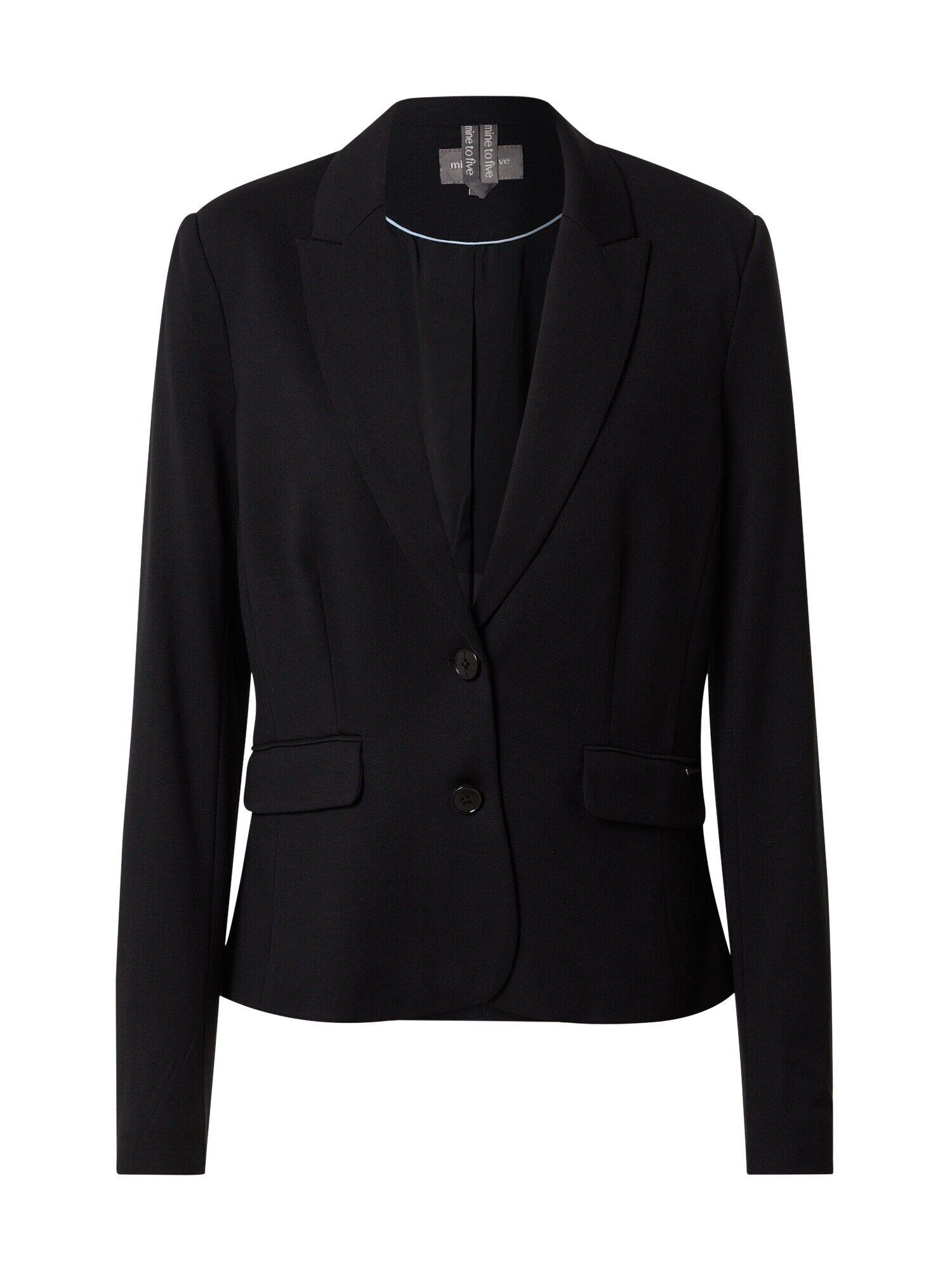 MINE TO FIVE Blazer  - Noir - Taille: M - female