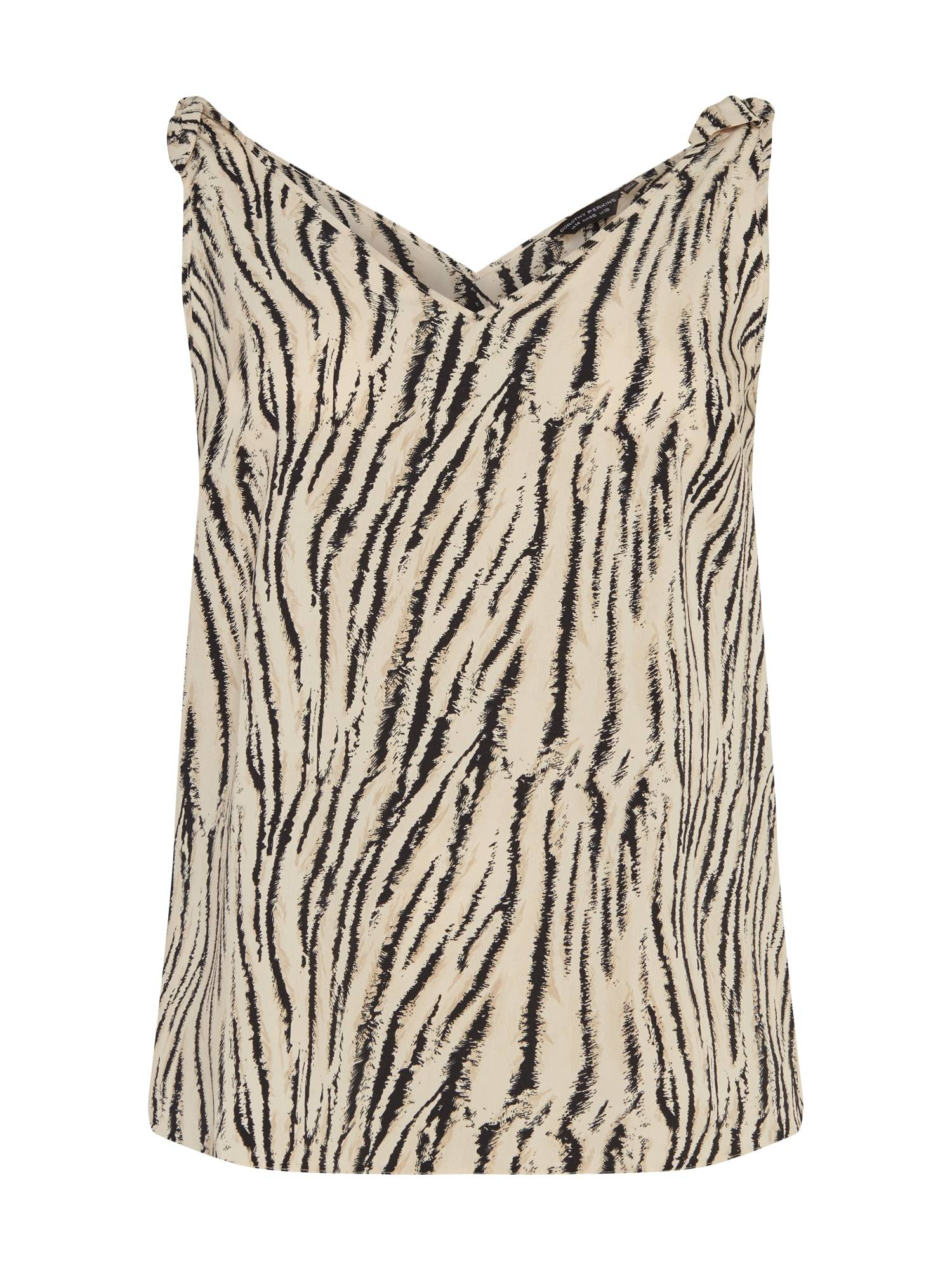 Dorothy Perkins Curve Haut  - Beige - Taille: 18 - female