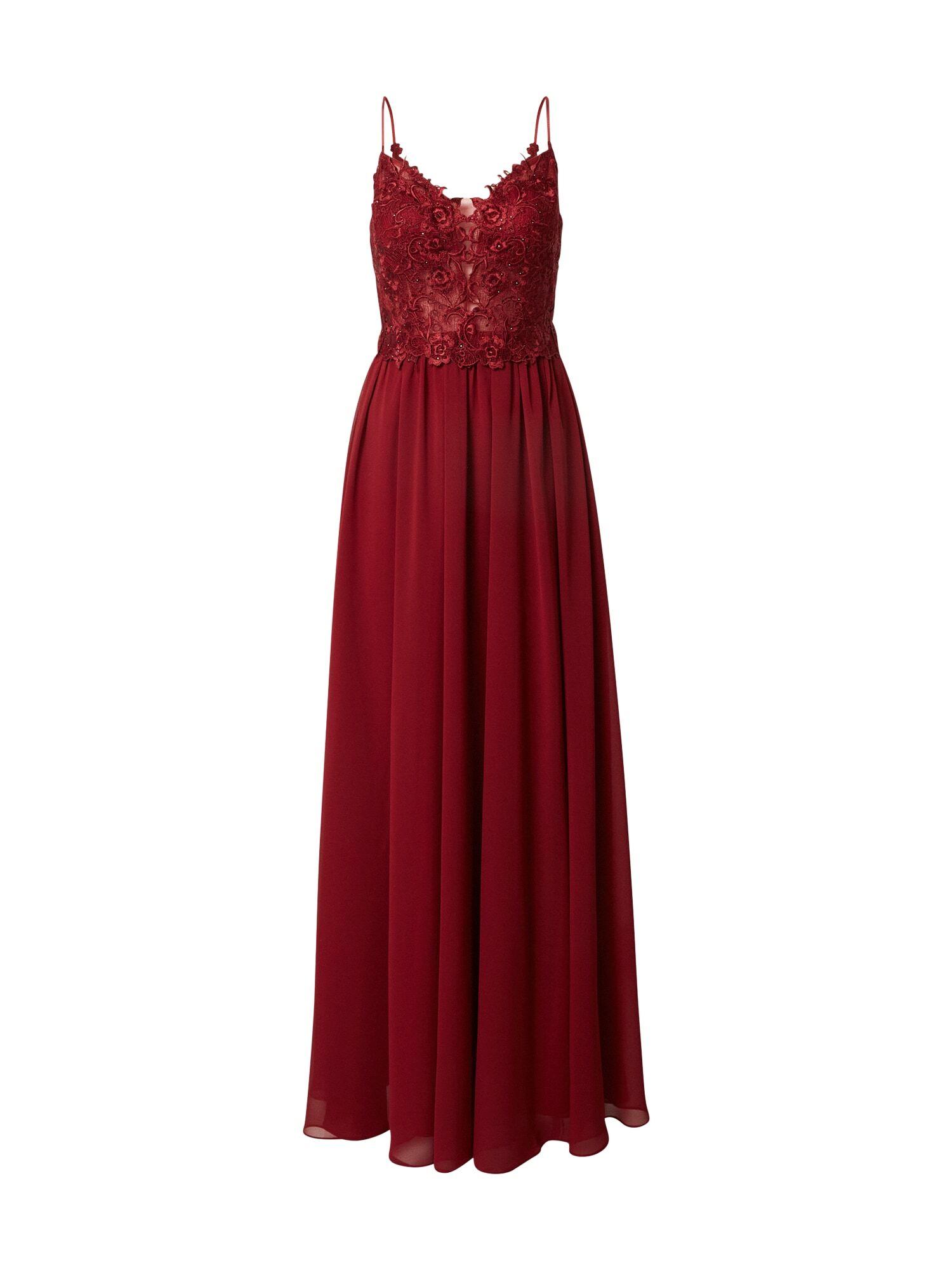 mascara Robe de soirée  - Rouge - Taille: 34 - female