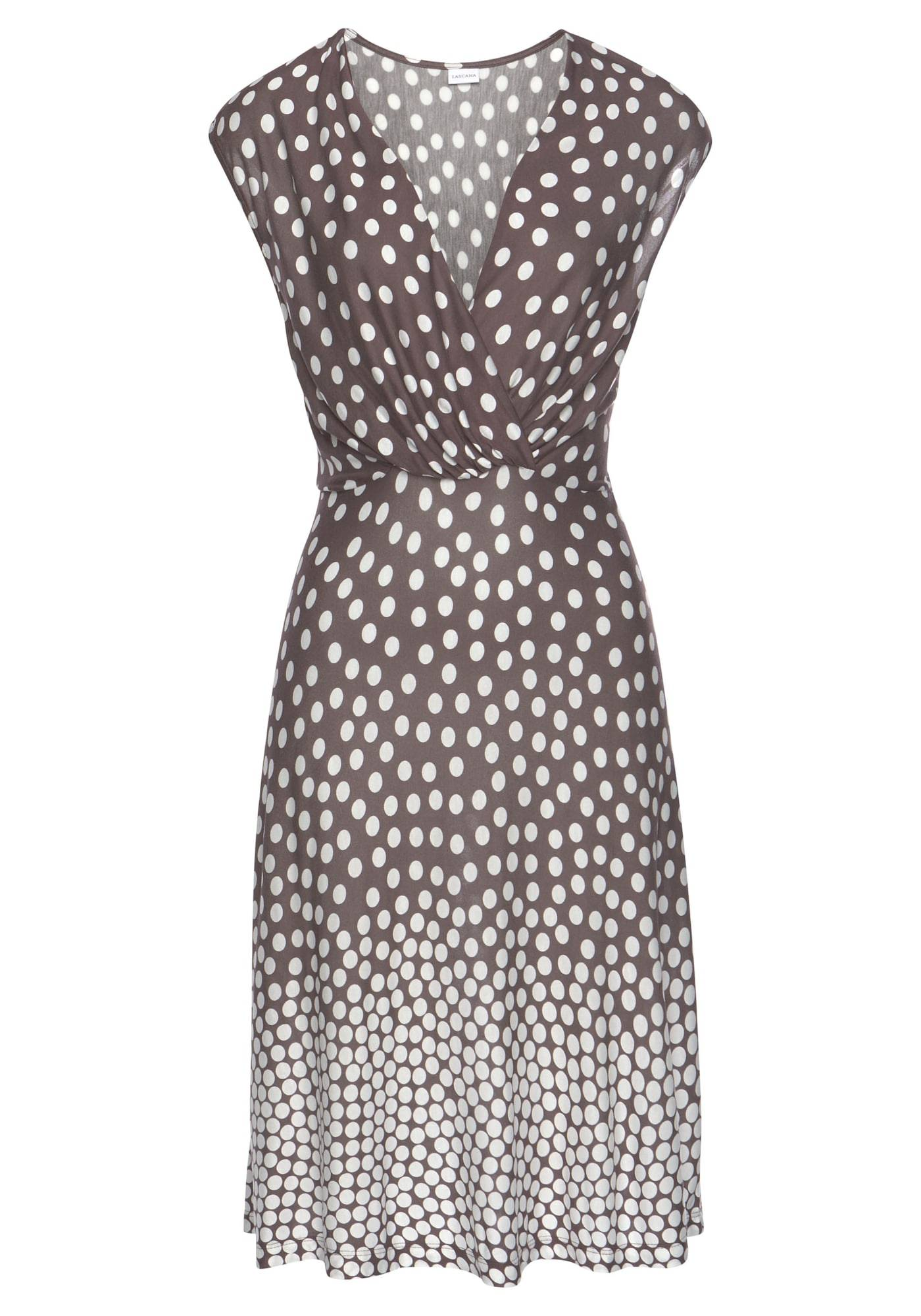 LASCANA Vêtement de plage 'Dalmatiner'  - Marron - Taille: 34 - female
