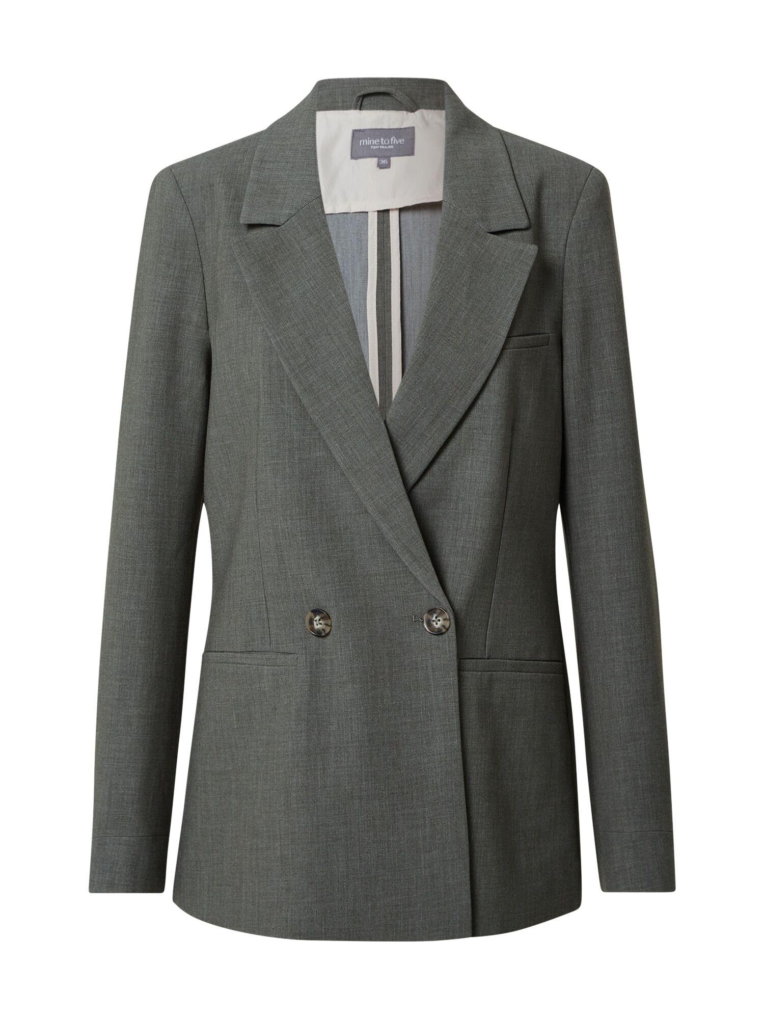 MINE TO FIVE Blazer  - Vert - Taille: 40 - female