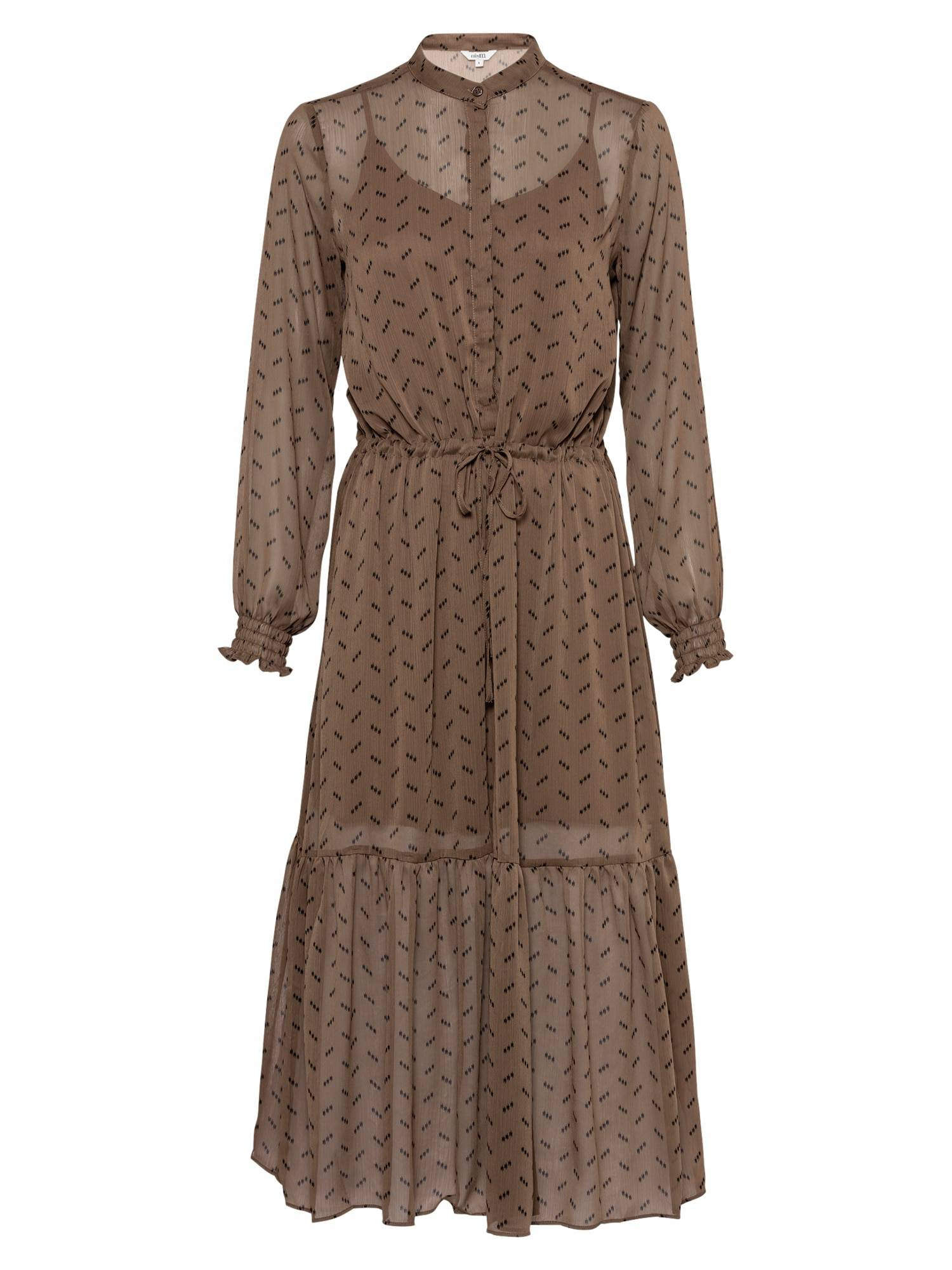 mbym Robe-chemise 'Diaz'  - Marron - Taille: XS - female