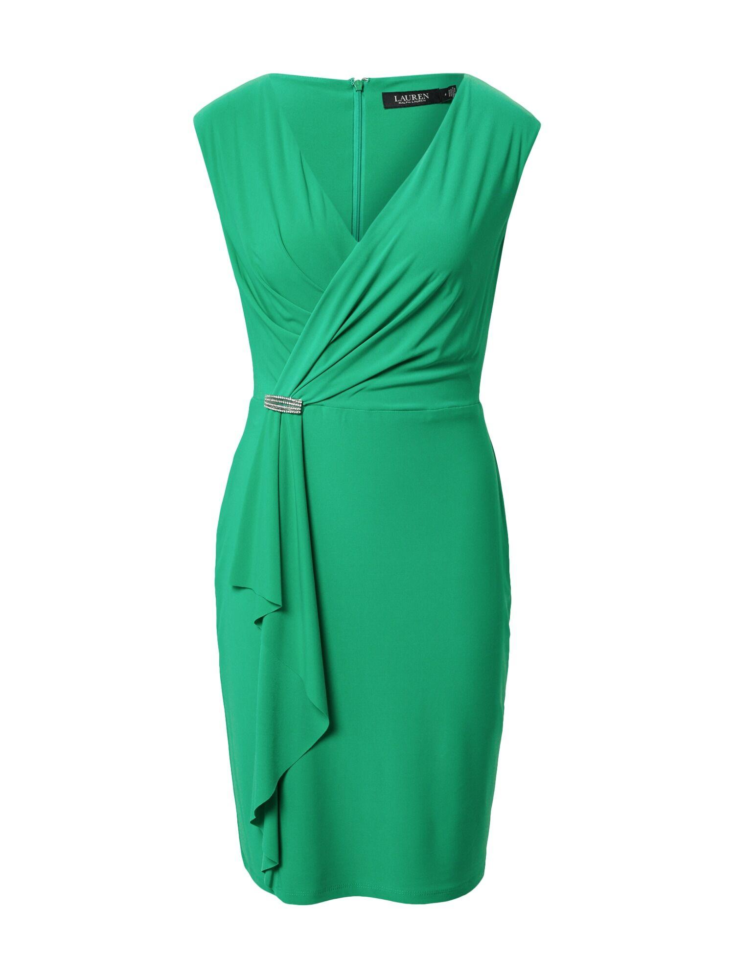 Lauren Ralph Lauren Robe de cocktail 'RYDER'  - Vert - Taille: 10 - female