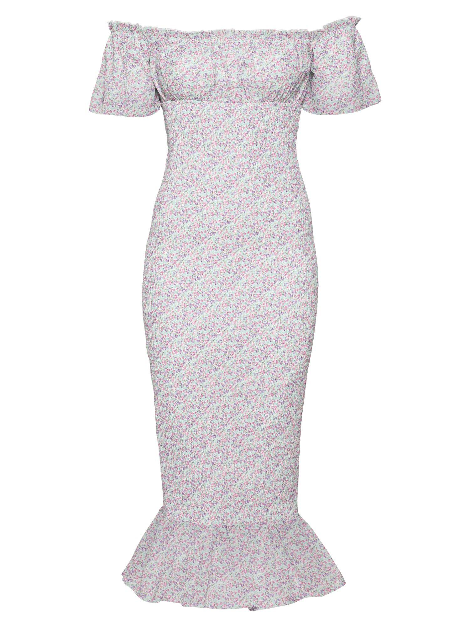Love Triangle Robe d'été 'AURORA'  - Rose - Taille: 12 - female