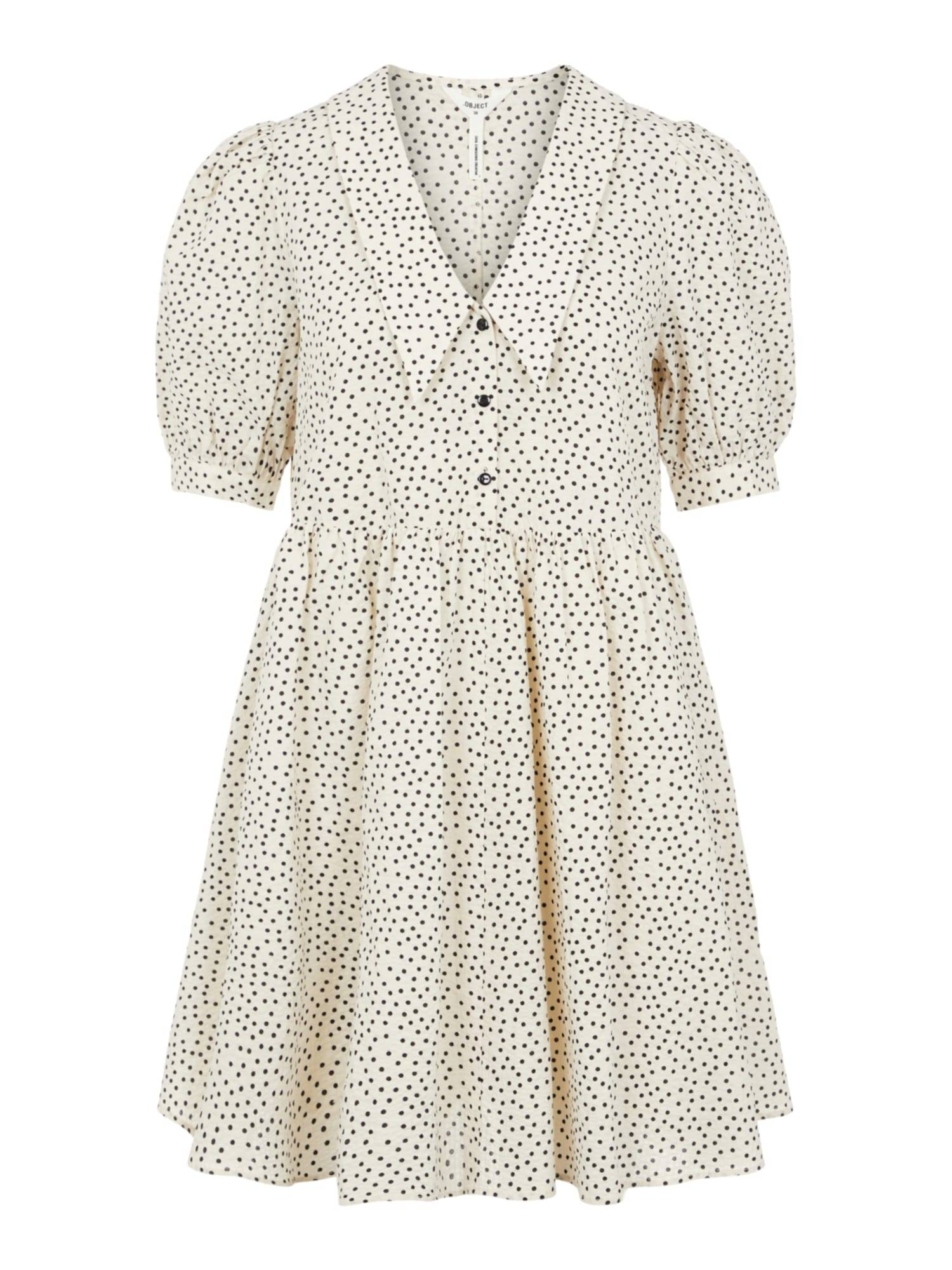 OBJECT Robe-chemise 'Nour'  - Beige - Taille: 42 - female