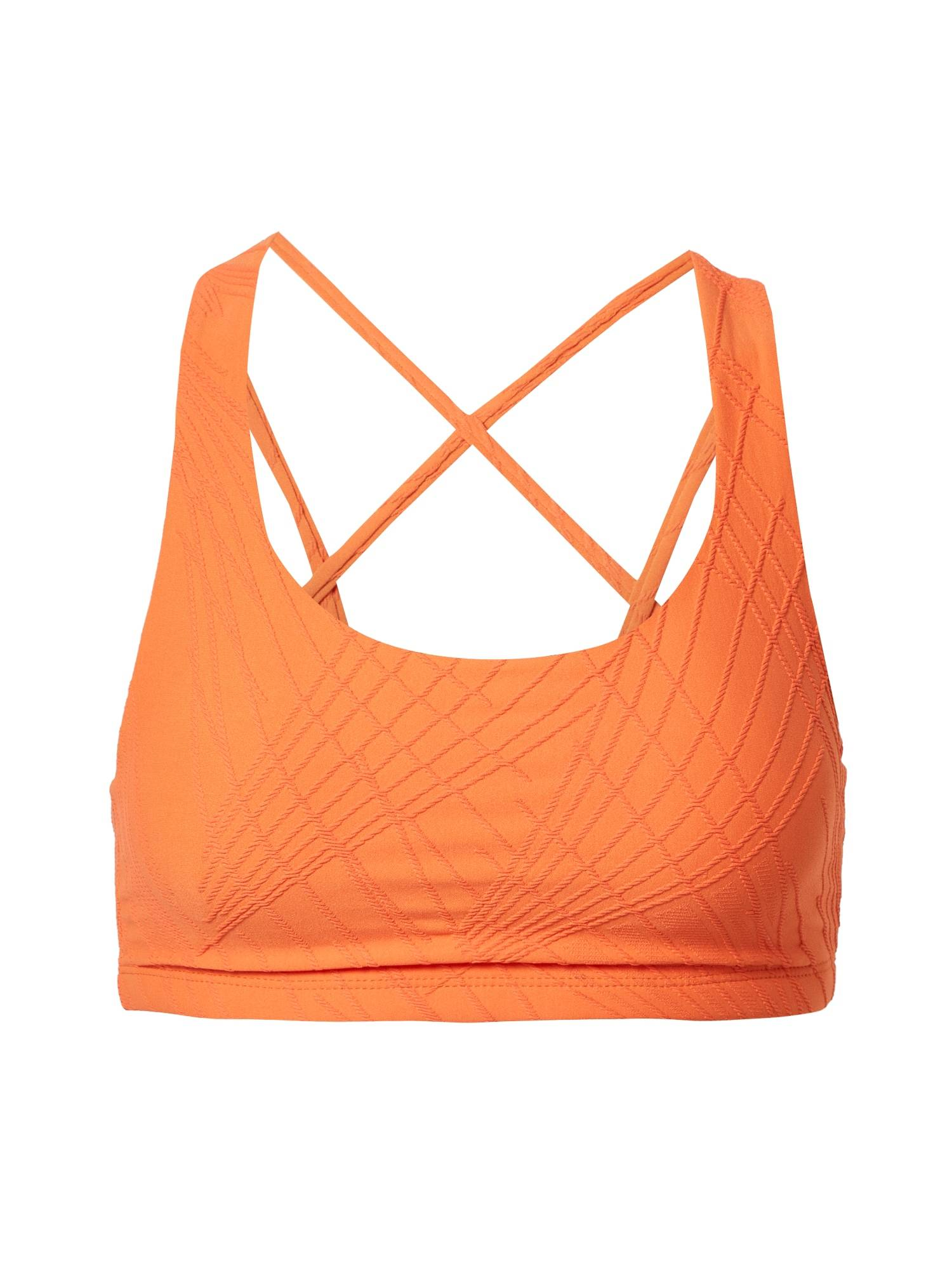 Onzie Soutien-gorge de sport 'Selenite Mudra'  - Orange - Taille: S-M - female