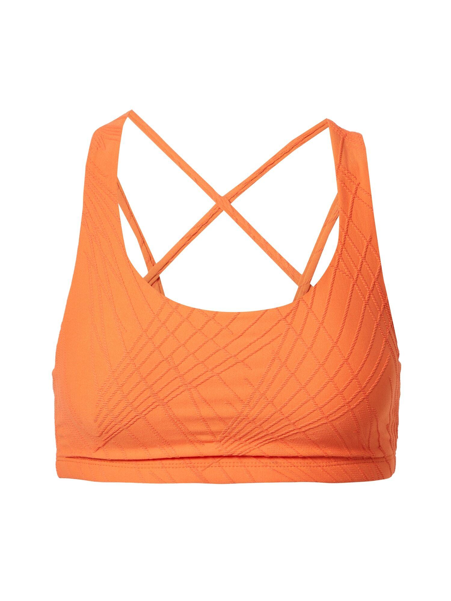 Onzie Soutien-gorge de sport 'Selenite Mudra'  - Orange - Taille: M-L - female