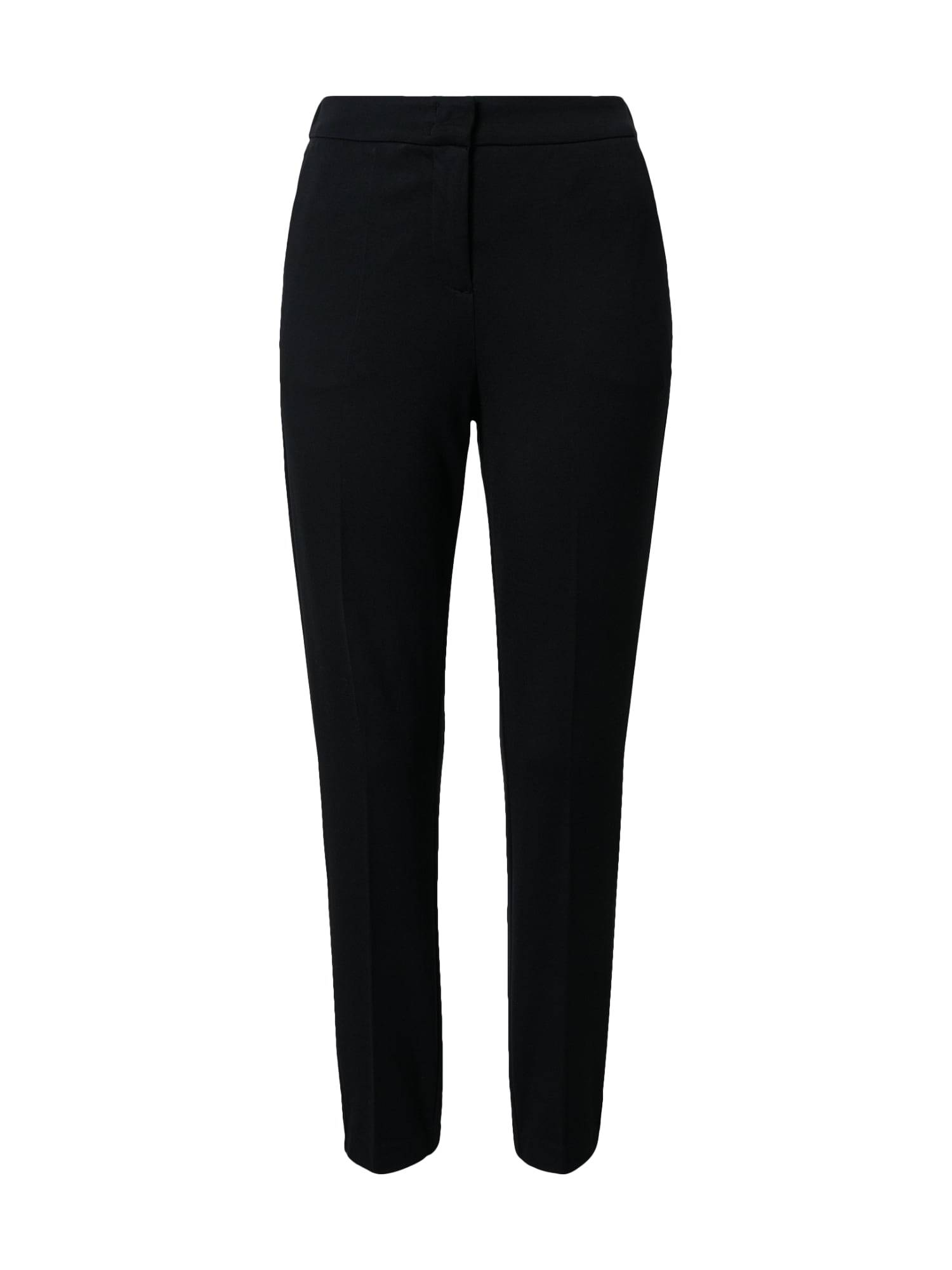 MINE TO FIVE Pantalon à plis  - Noir - Taille: XS - female