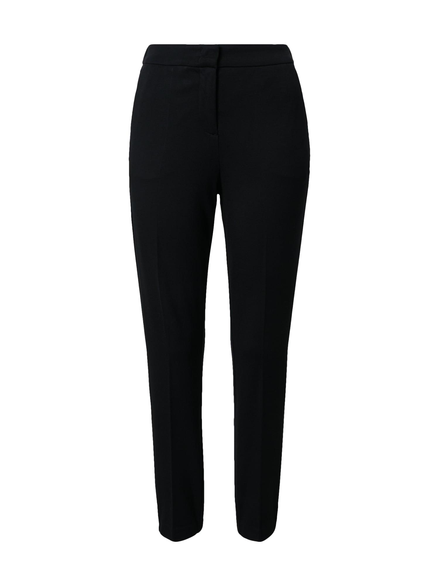 MINE TO FIVE Pantalon à plis  - Noir - Taille: S - female