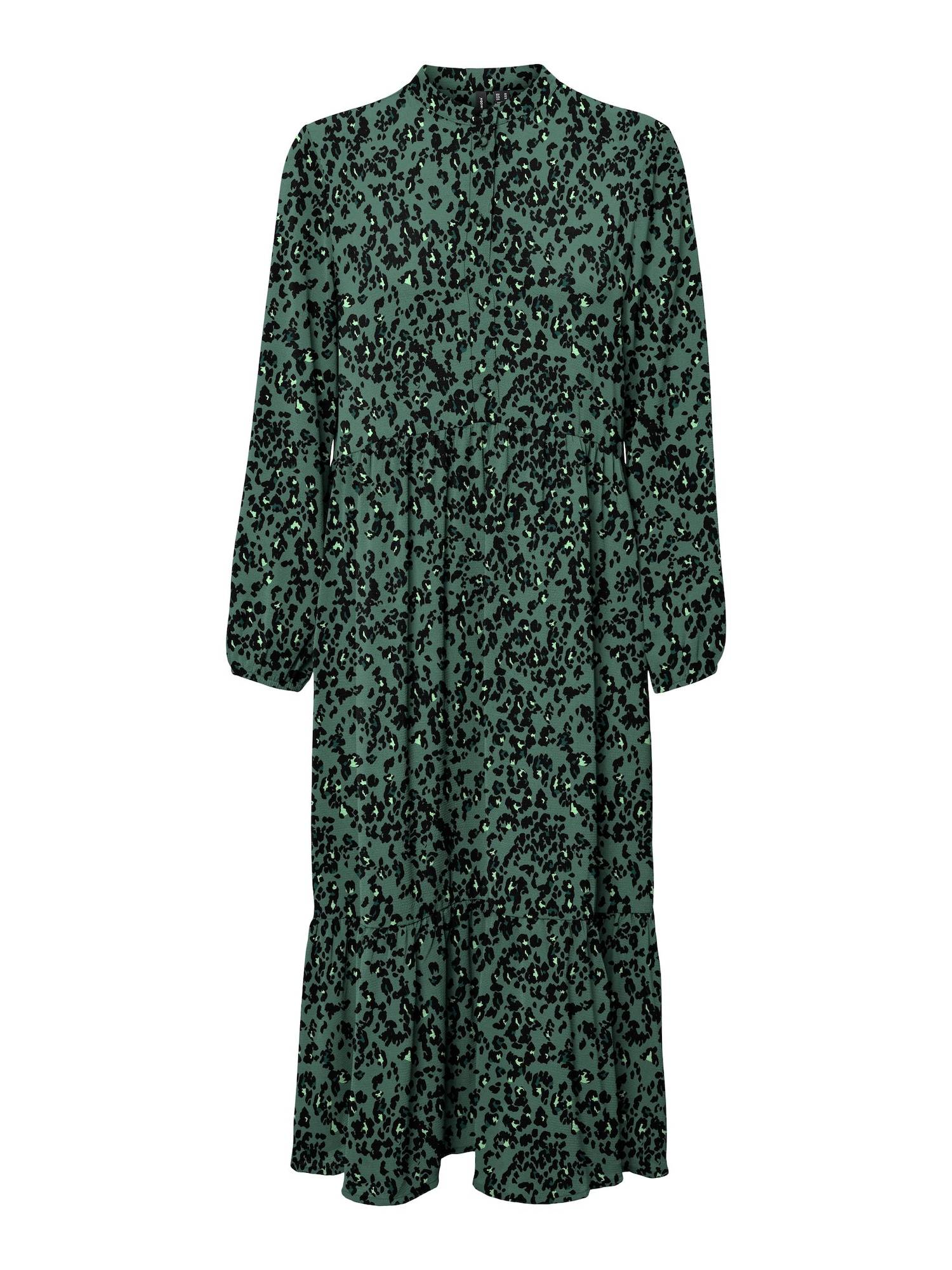 Vero Moda Curve Robe-chemise 'Saga'  - Vert - Taille: 46 - female