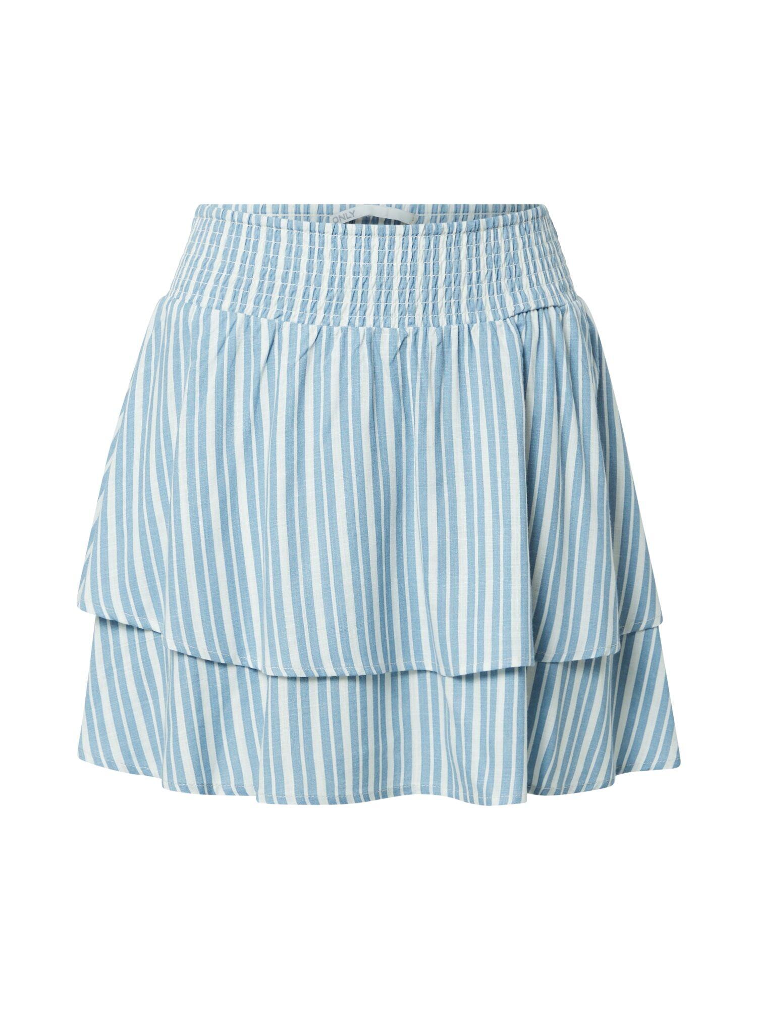 ONLY Jupe 'AURORA'  - Bleu - Taille: XXL - female