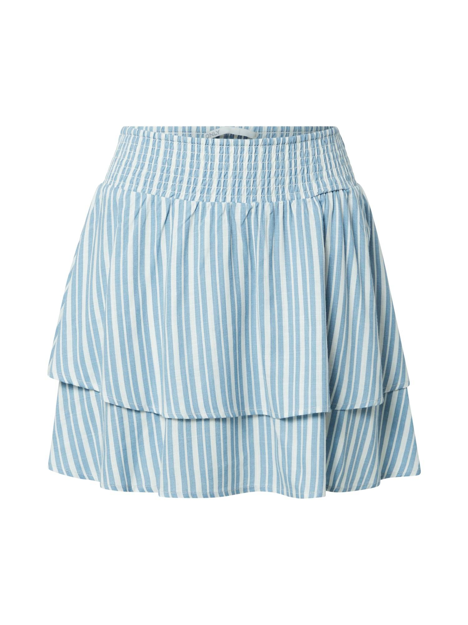 ONLY Jupe 'AURORA'  - Bleu - Taille: XS - female