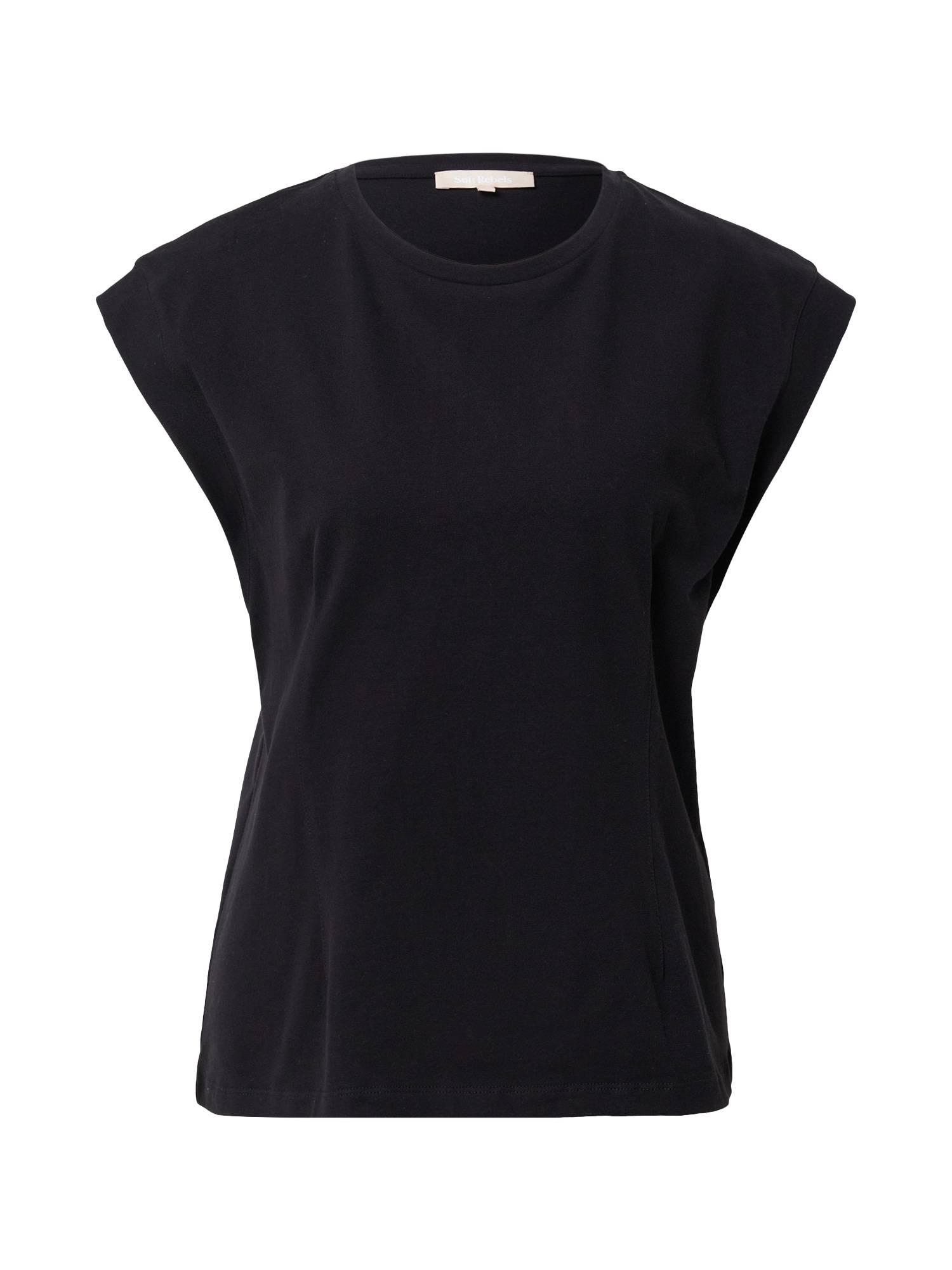 Soft Rebels T-shirt 'Winona'  - Noir - Taille: S - female