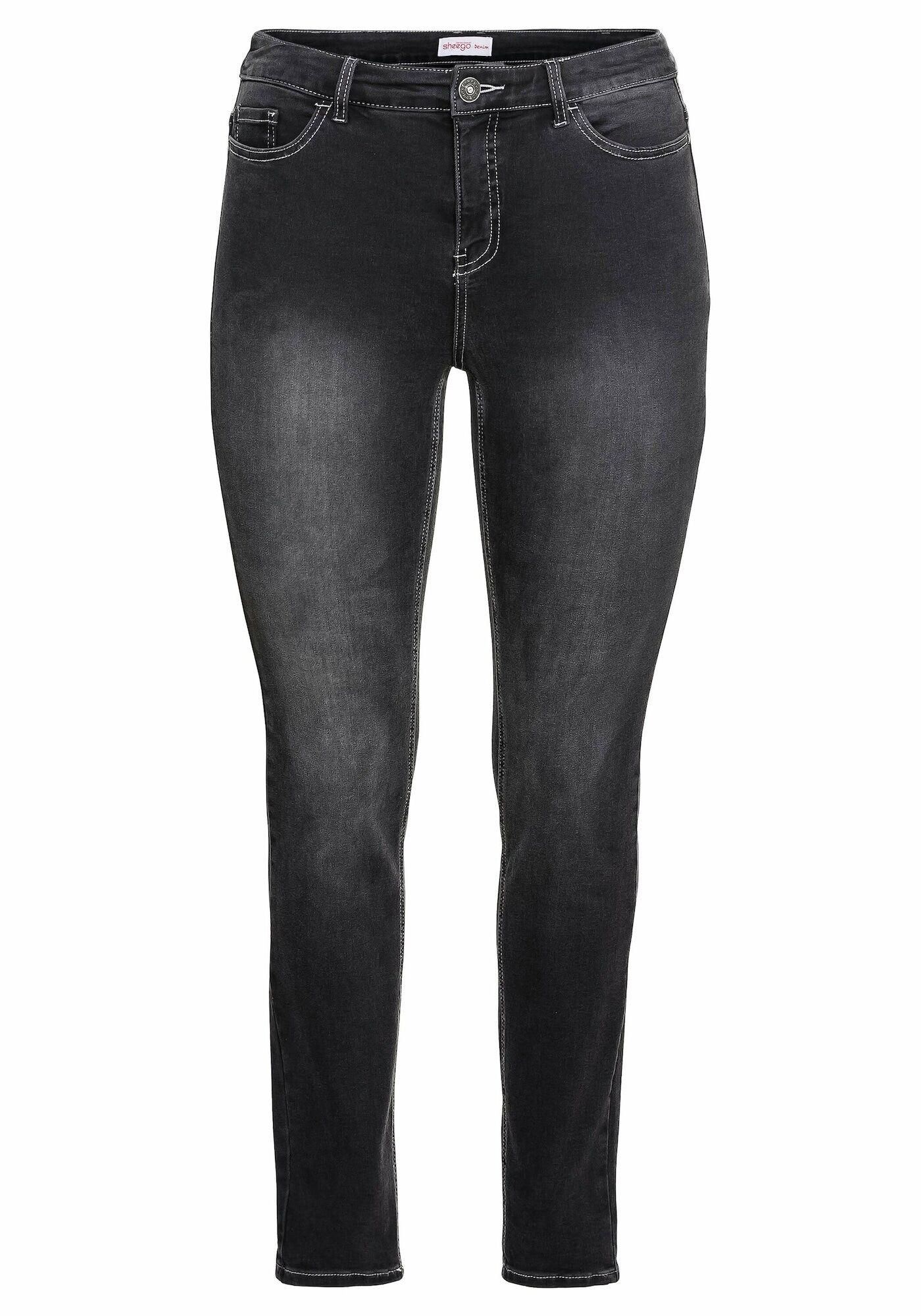 SHEEGO Jean  - Noir - Taille: 54 - female
