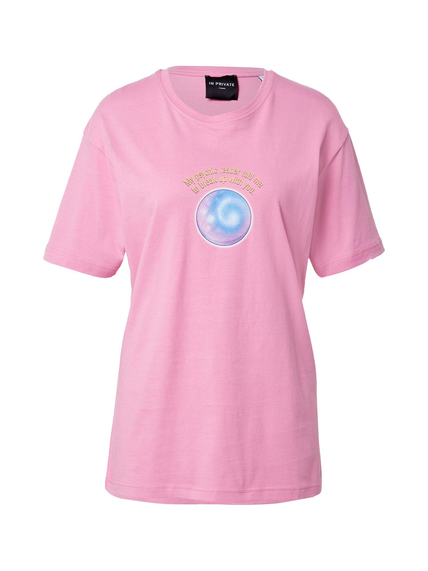 IN PRIVATE Studio T-shirt 'BIANCA'S'  - Rose - Taille: L - female