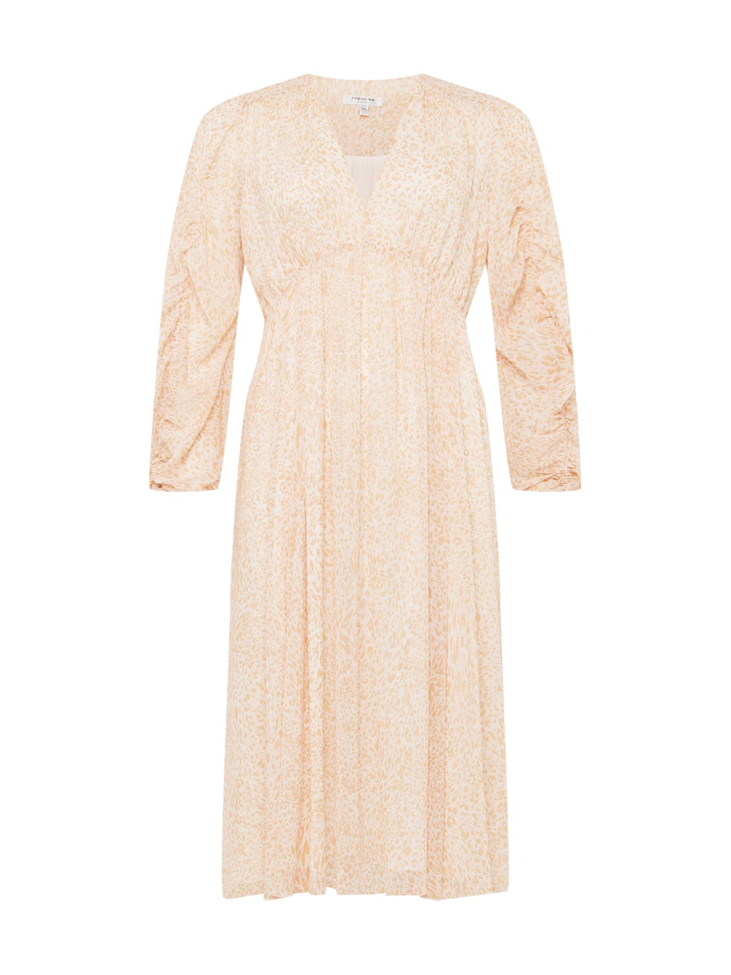 Forever New Curve Robe  - Beige - Taille: 48 - female