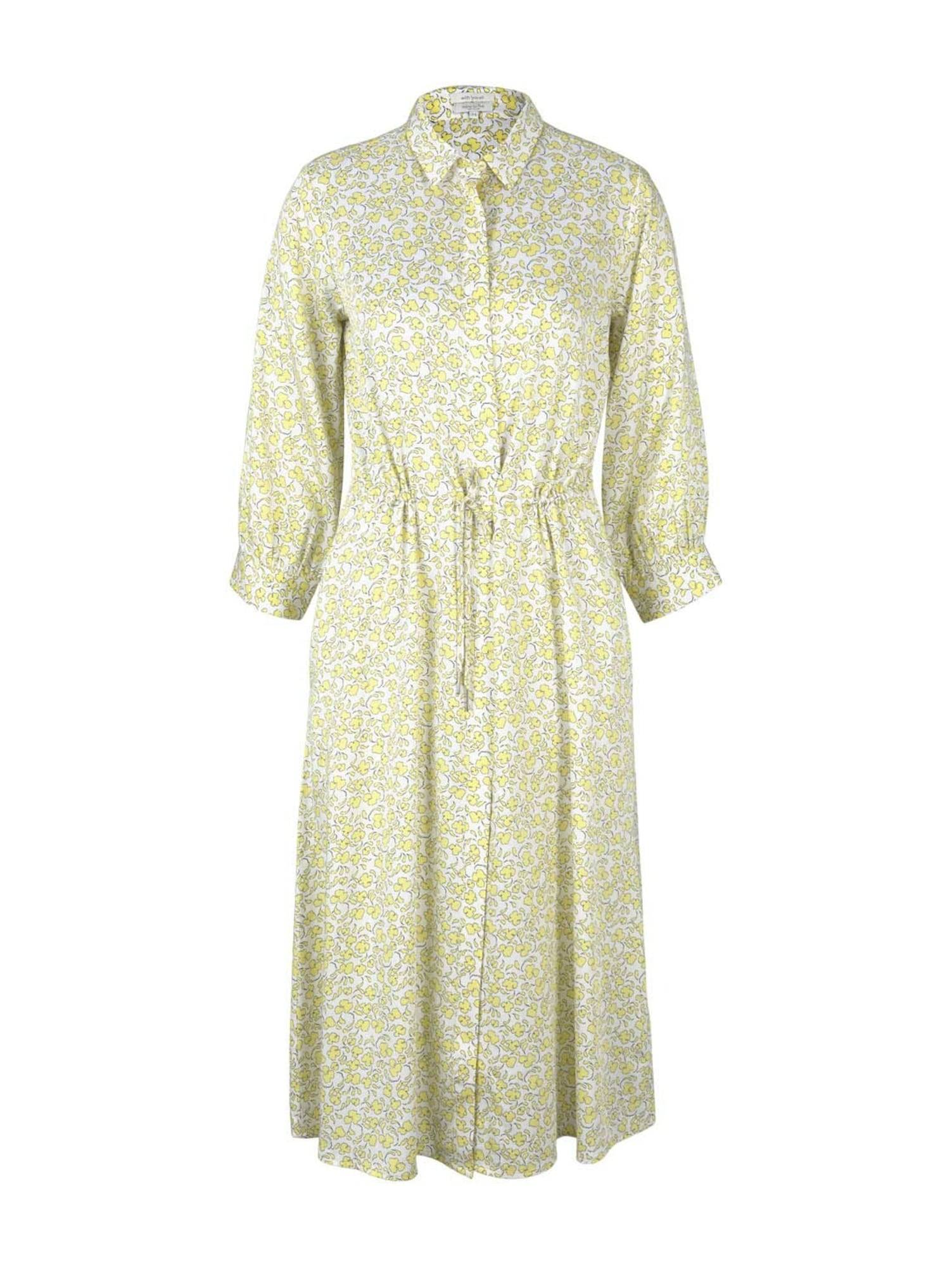MINE TO FIVE Robe-chemise  - Jaune - Taille: 42 - female