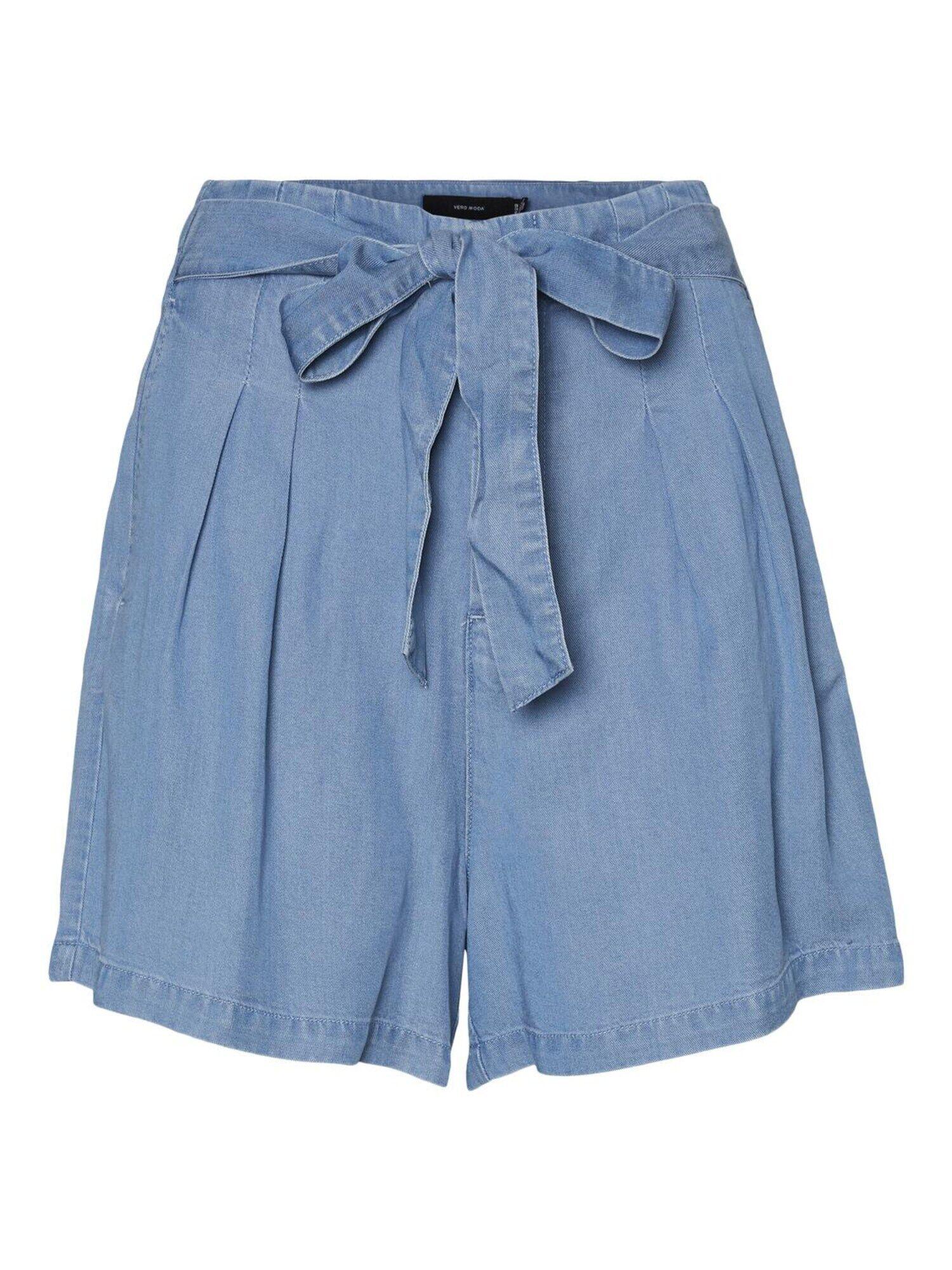 Vero Moda Curve Pantalon à pince 'MIA'  - Bleu - Taille: 52 - female