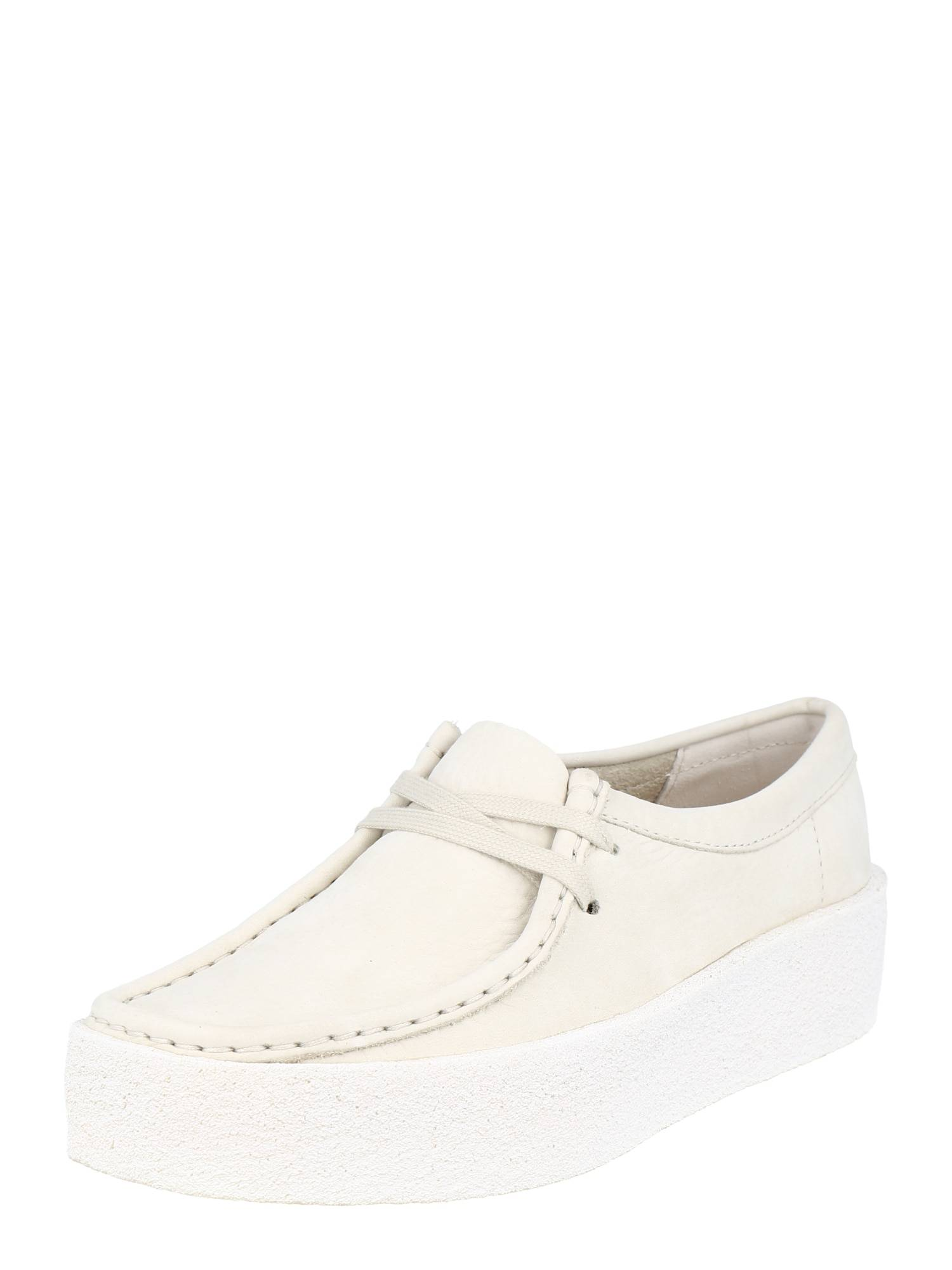 Clarks Originals Chaussure à lacets 'Wallabee Cup'  - Blanc - Taille: 4 - female