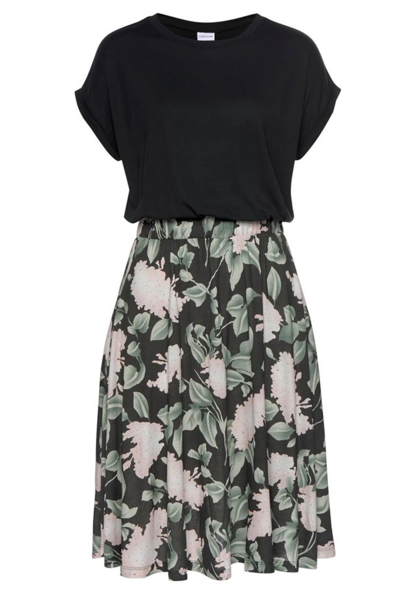 BUFFALO Robe 'Cottage Paperba'  - Noir - Taille: 46 - female