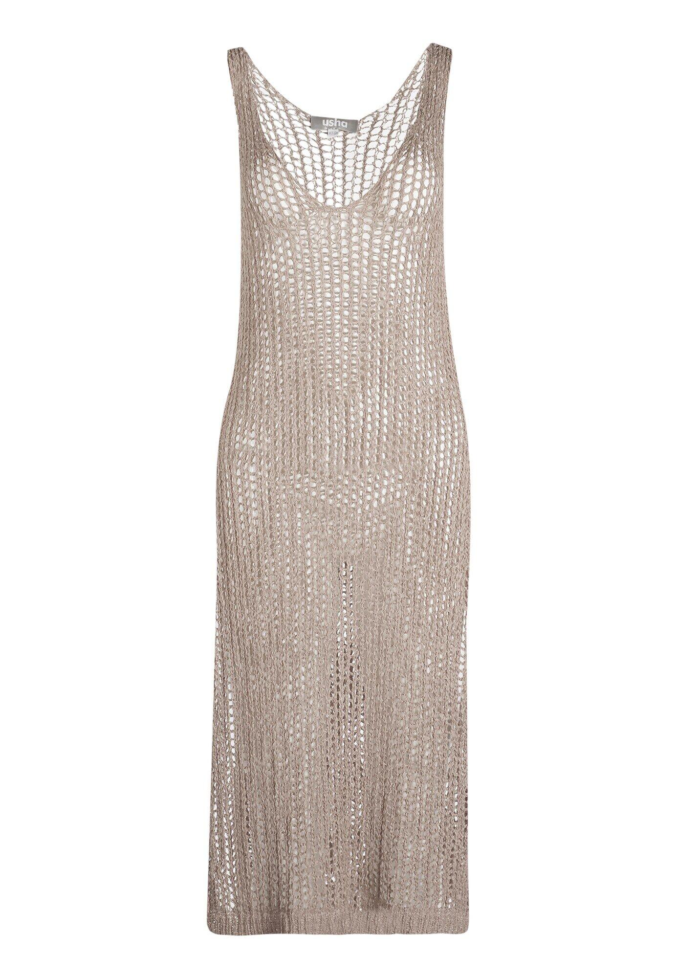 Usha Vêtement de plage  - Gris - Taille: 42-44 - female