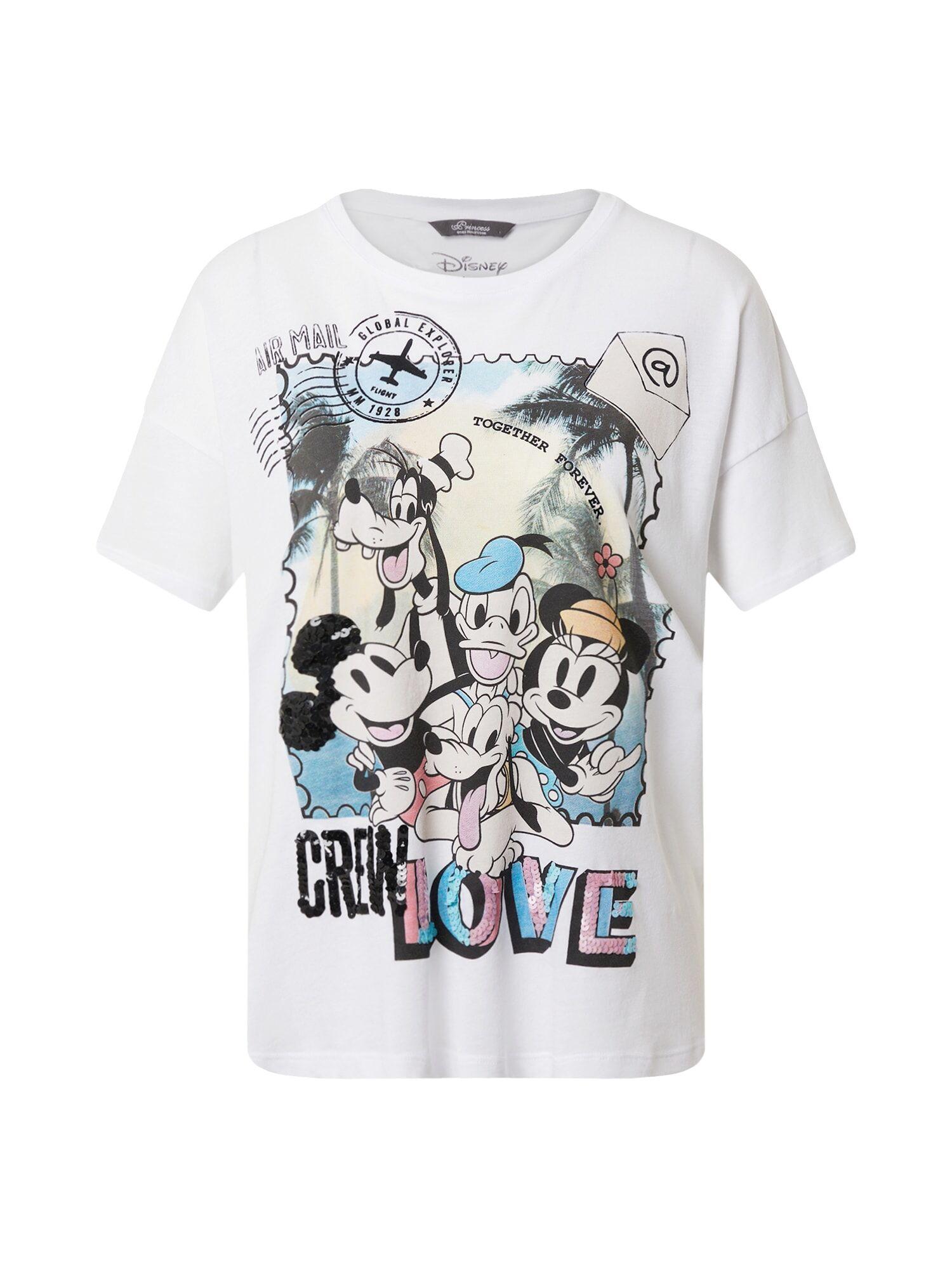 Princess T-shirt 'Disney Crew Love'  - Blanc - Taille: 42 - female