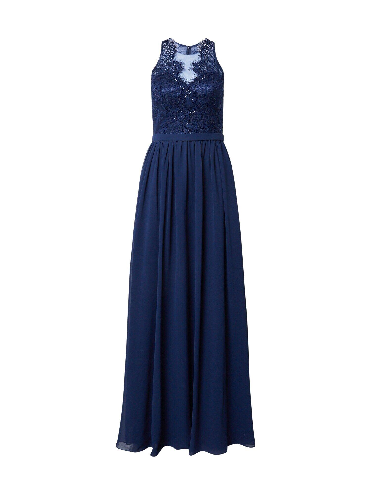 mascara Robe de soirée  - Bleu - Taille: 44 - female