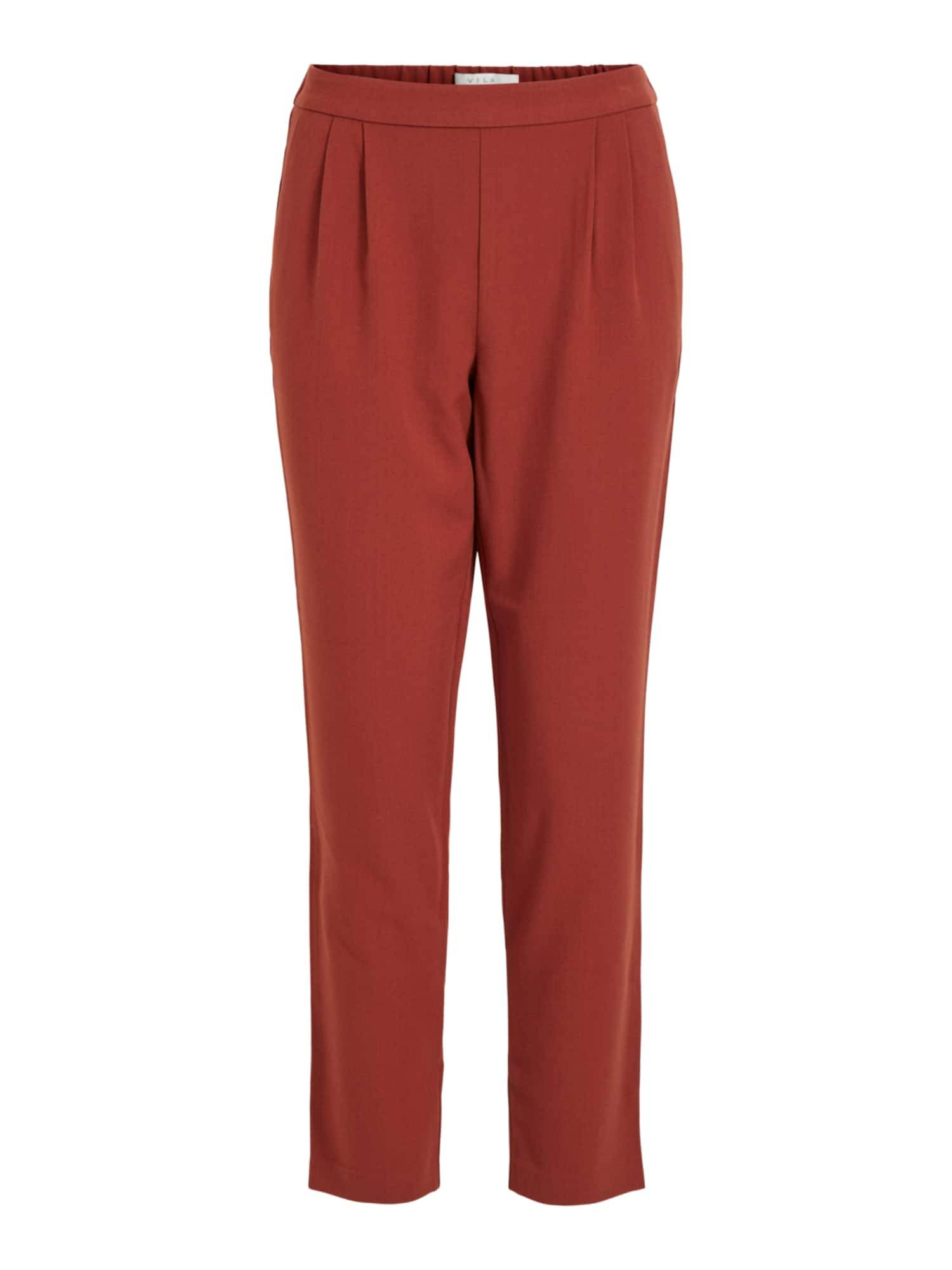 VILA Pantalon à pince 'Titti'  - Rouge - Taille: 40 - female