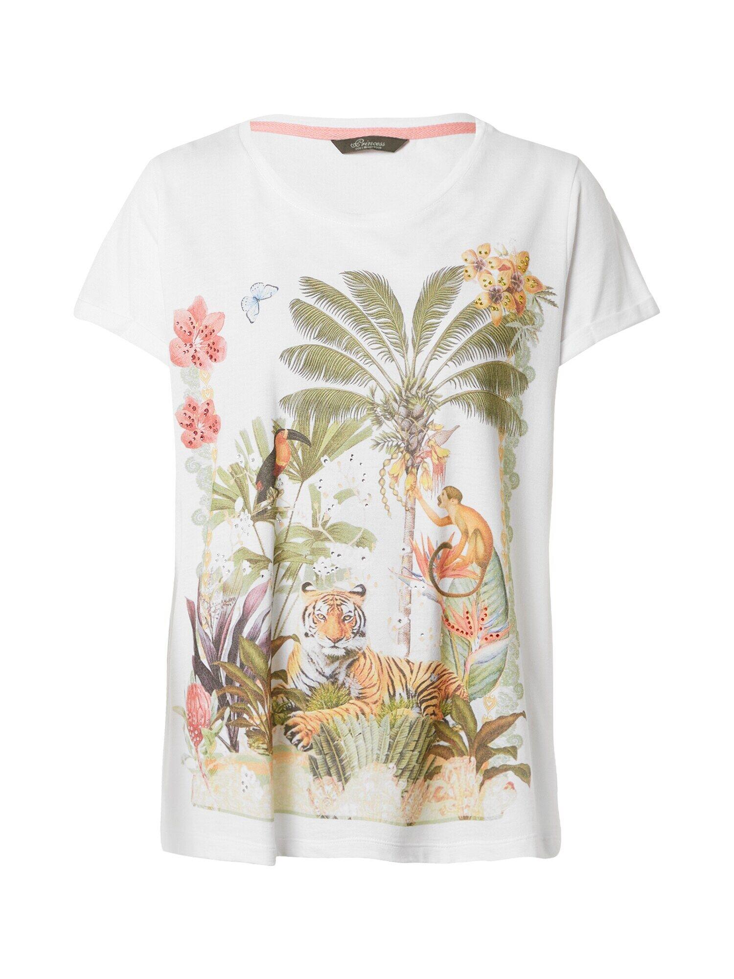 Princess T-shirt  - Blanc - Taille: S - female