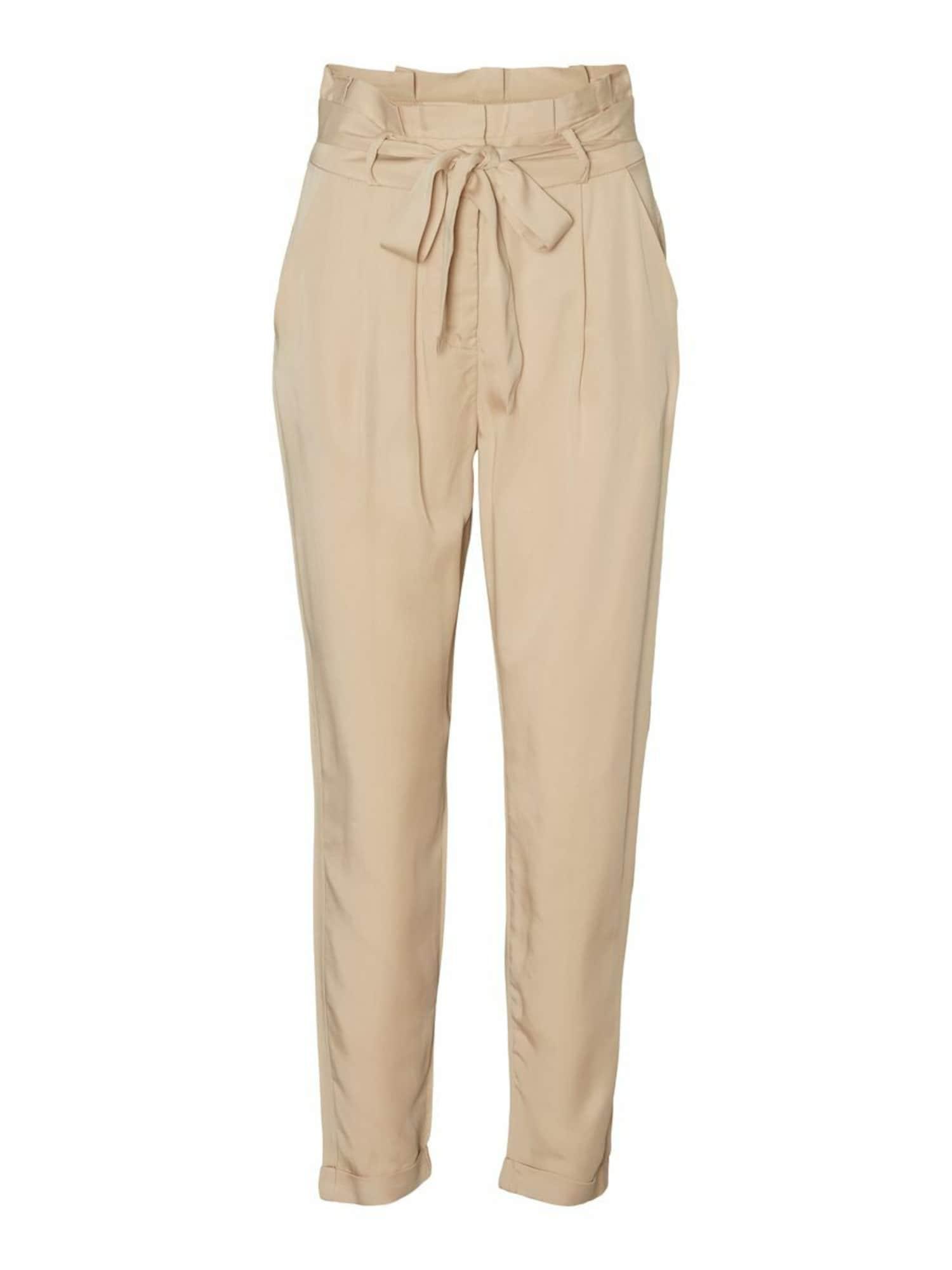 VERO MODA Pantalon à pince  - Beige - Taille: M - female