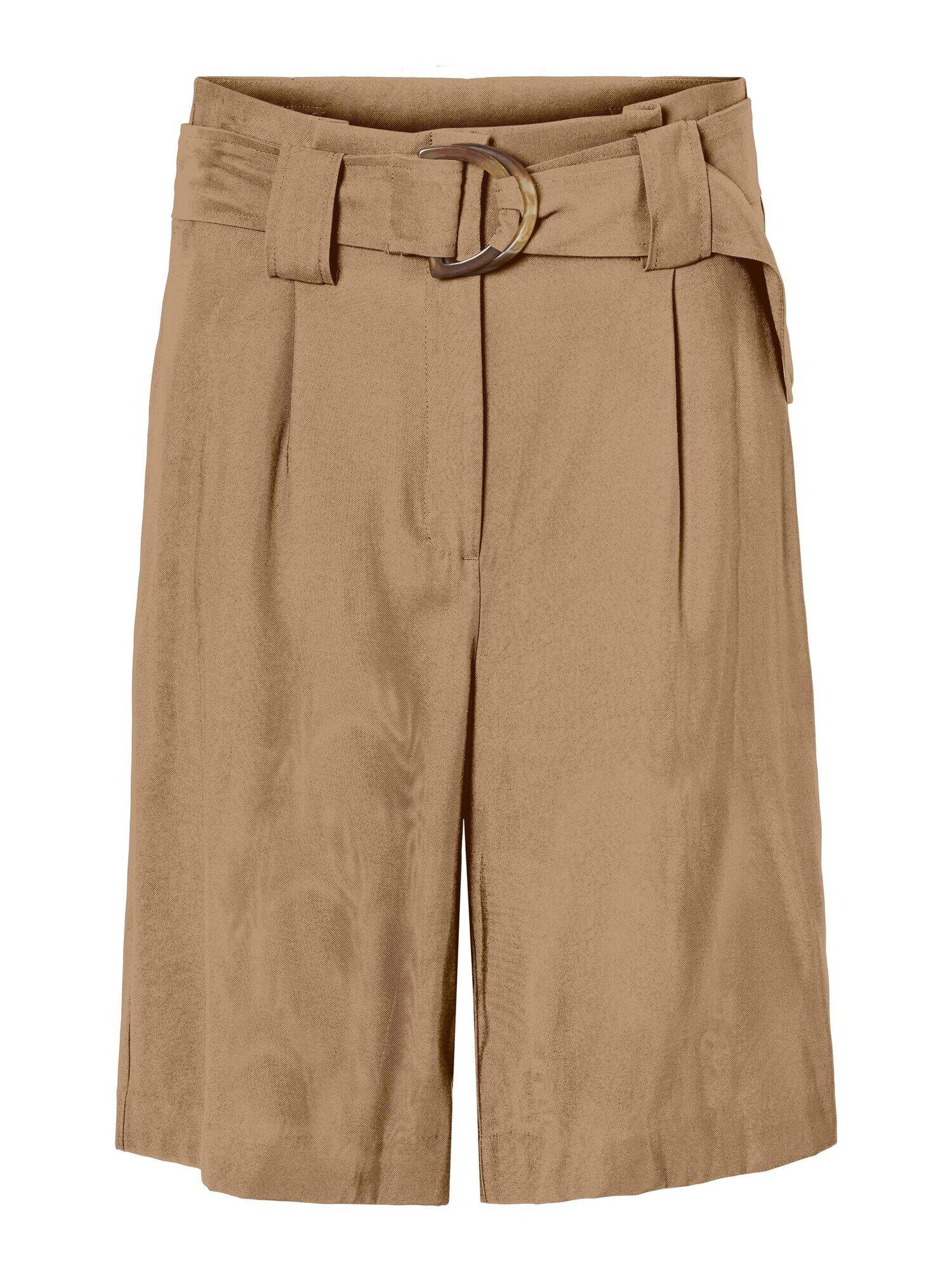 VERO MODA Pantalon à pince 'ORLA'  - Marron - Taille: 34 - female