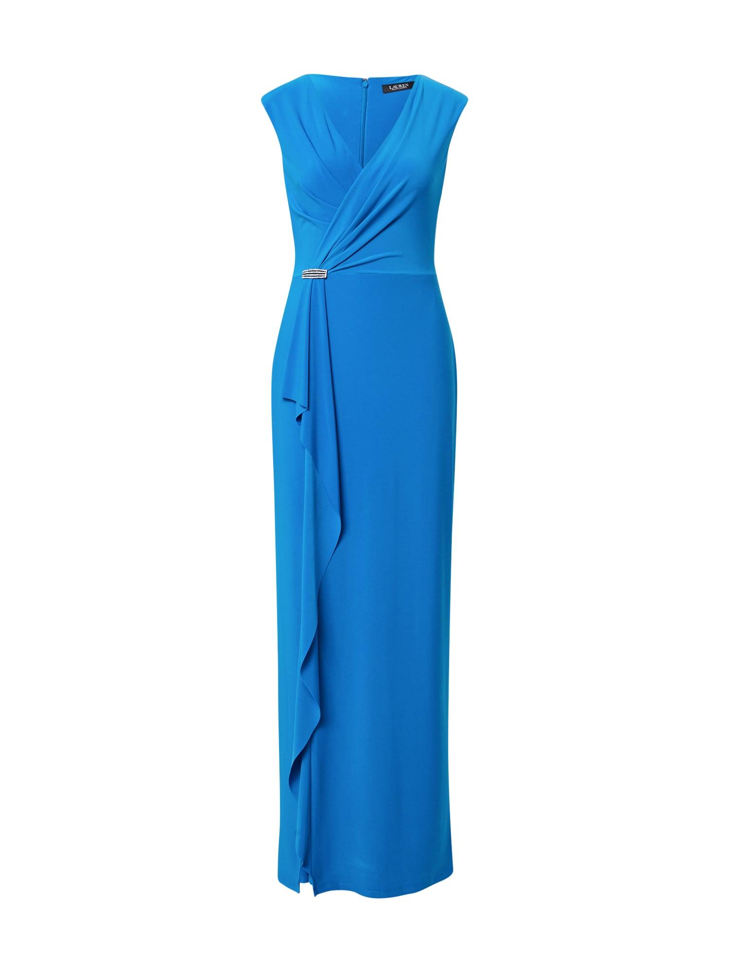 Lauren Ralph Lauren Robe de soirée 'RYDER'  - Bleu - Taille: 10 - female