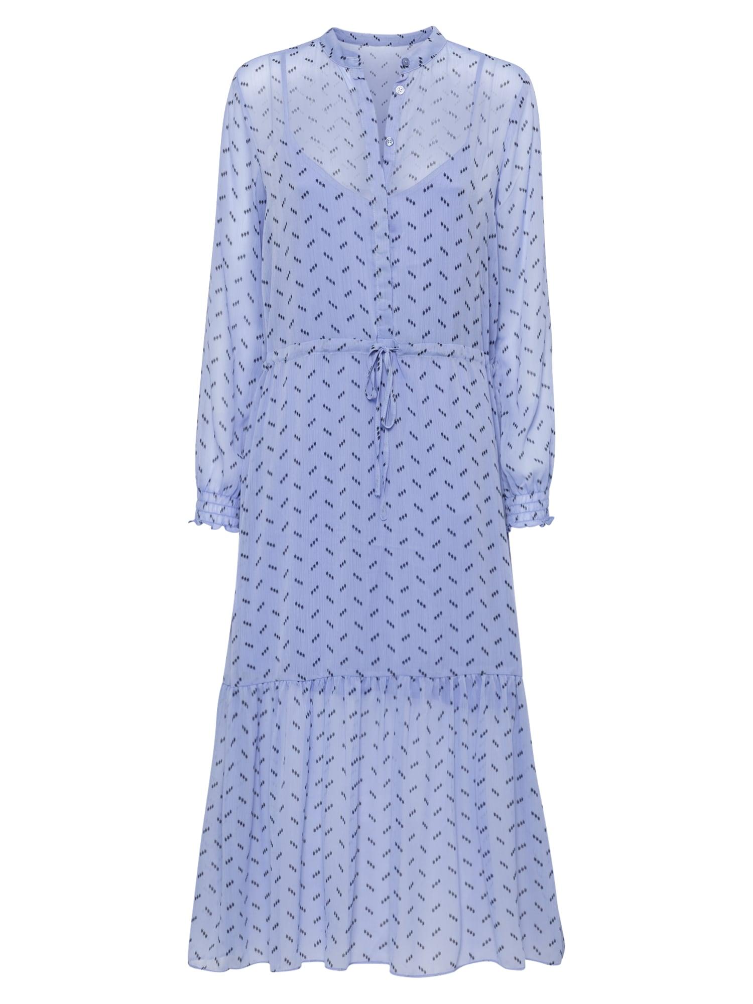 mbym Robe-chemise 'Diaz'  - Bleu - Taille: L - female