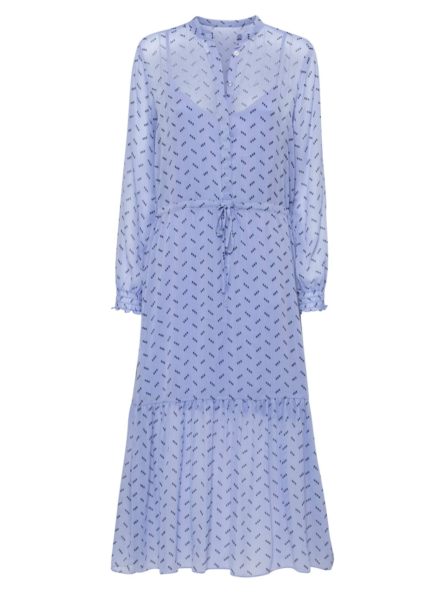 mbym Robe-chemise 'Diaz'  - Bleu - Taille: XL - female