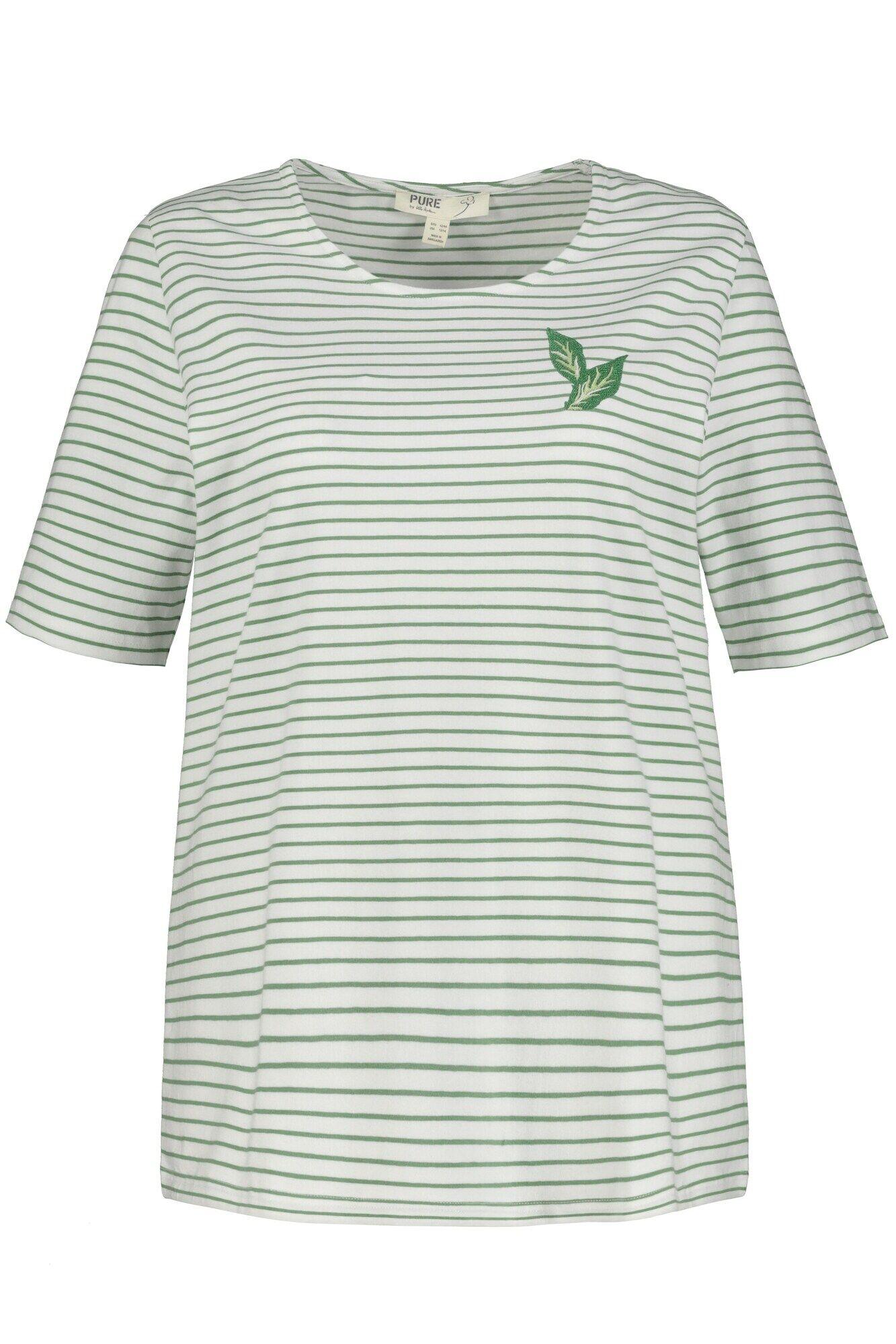 Ulla Popken T-shirt  - Vert - Taille: 50+ - female
