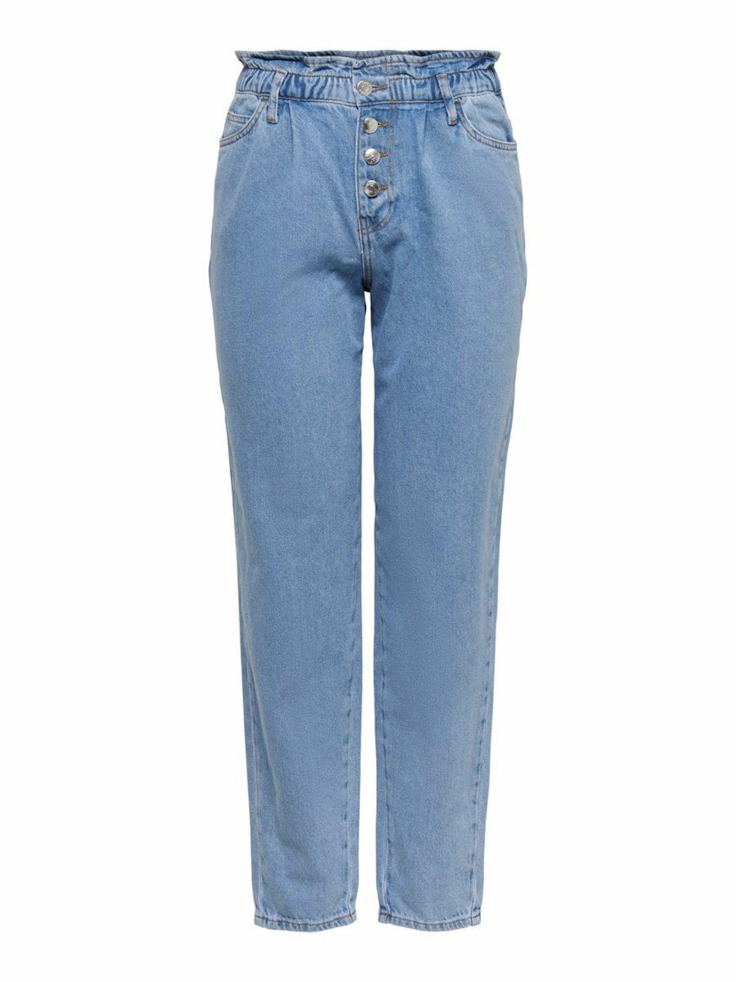 ONLY Jean à pince 'CUBA'  - Bleu - Taille: M - female