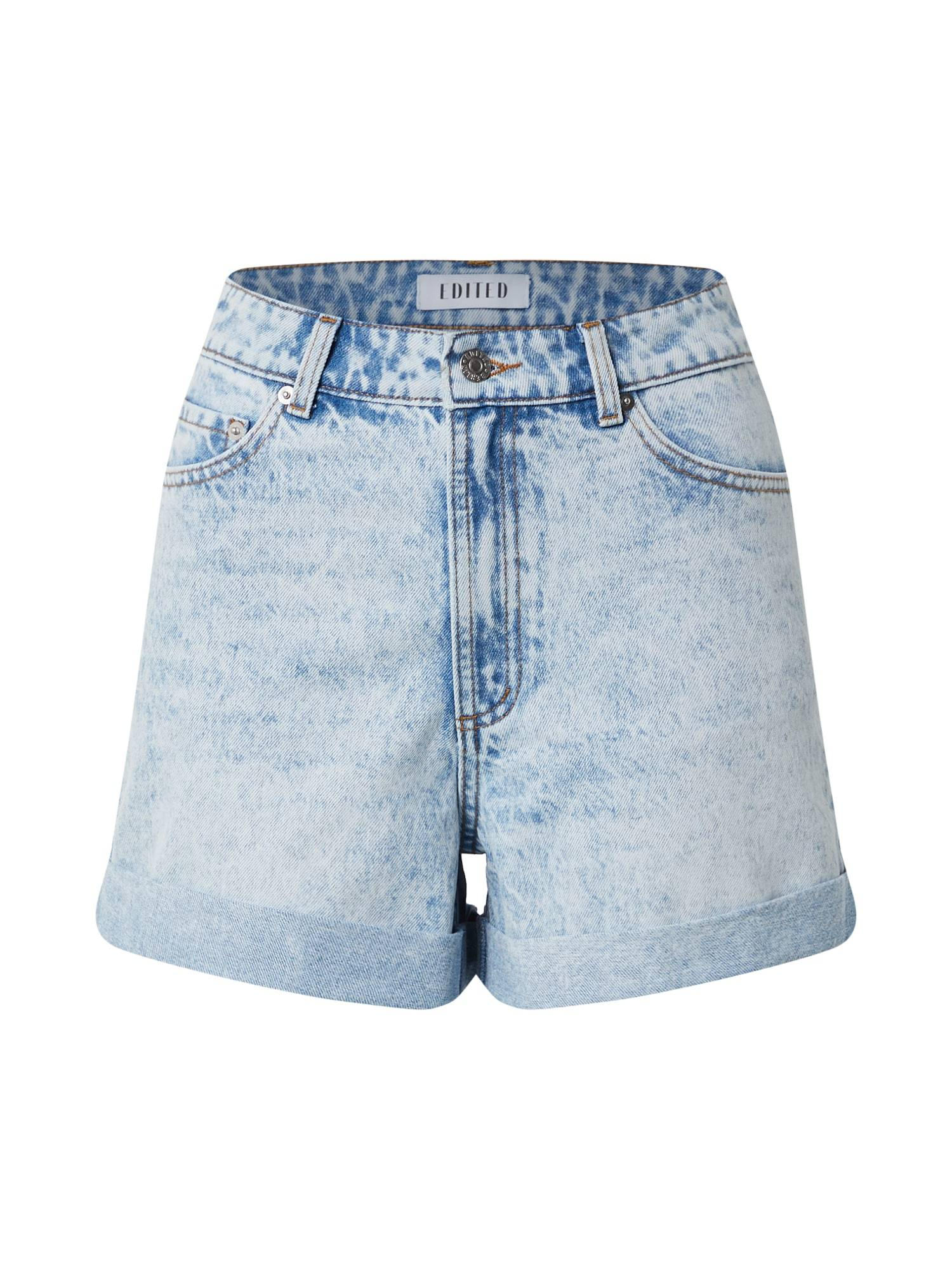 EDITED Jean 'Amy'  - Bleu - Taille: 40 - female