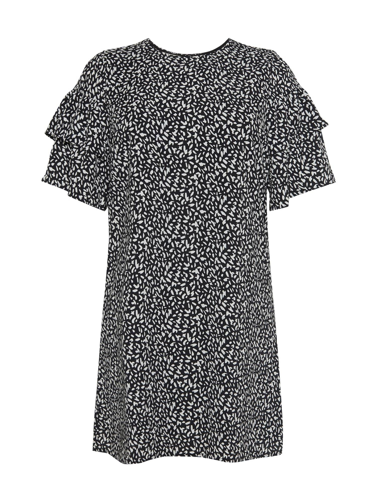 Selected Femme Curve Robe 'Carl'  - Noir - Taille: 48 - female