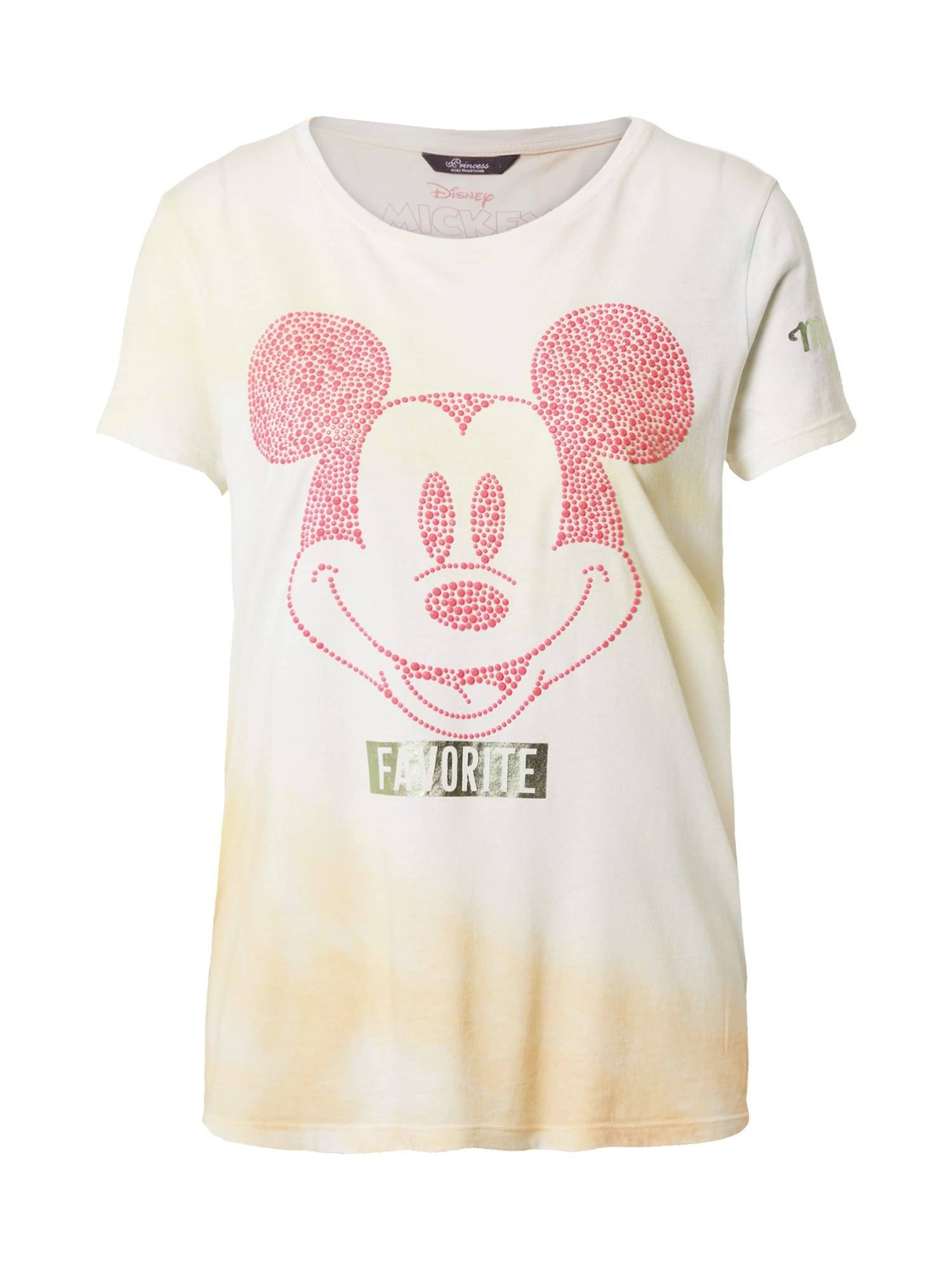 Princess T-shirt 'Mickey'  - Blanc - Taille: 40 - female
