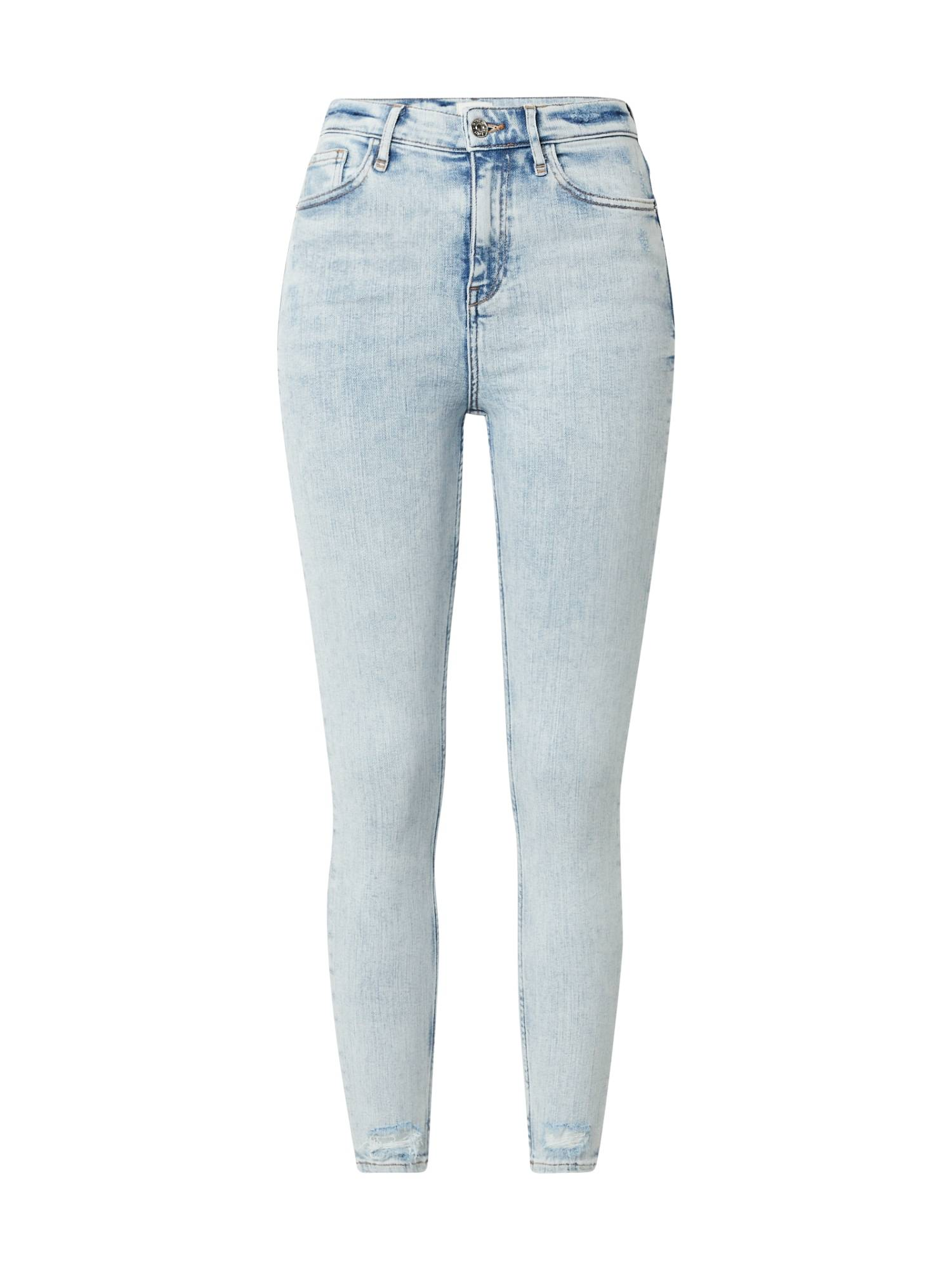 River Island Jean 'MOLLY JUICE'  - Bleu - Taille: 10 - female