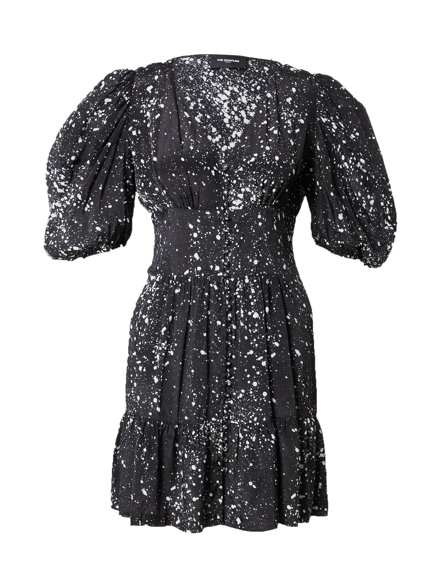 The Kooples Robe  - Noir - Taille: 4 - female
