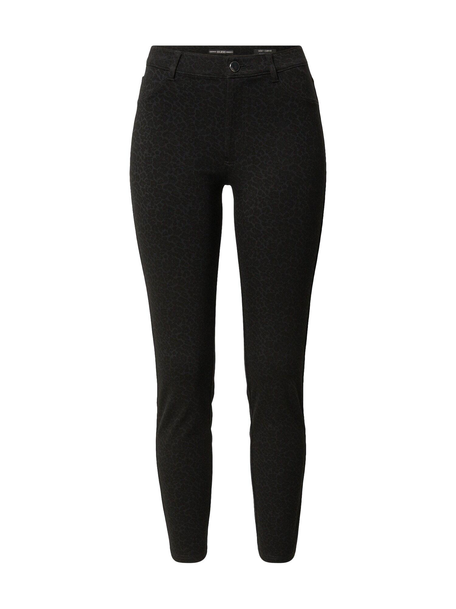 GUESS Pantalon 'SEXY CURVE'  - Noir - Taille: 28 - female