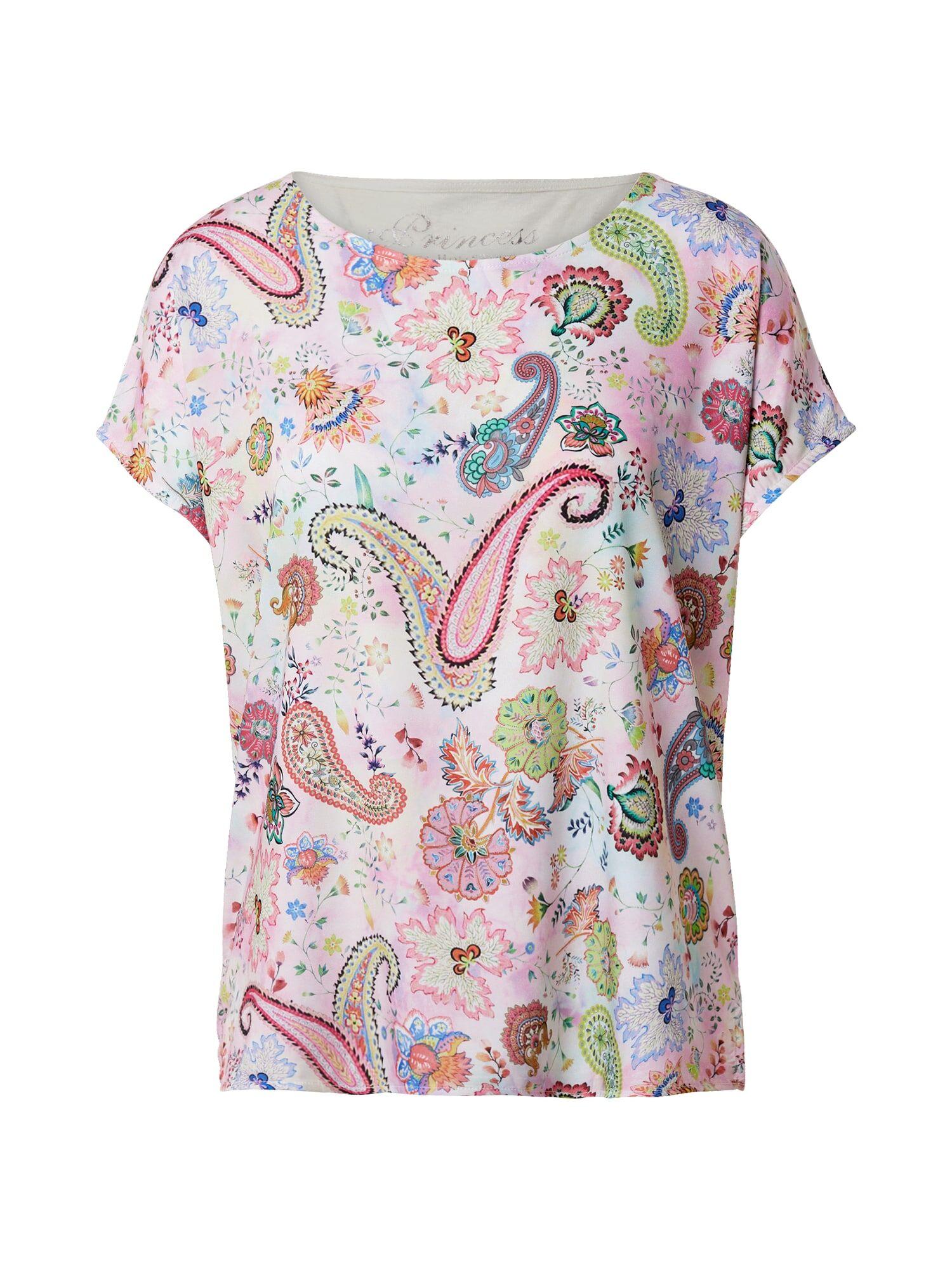 Princess T-shirt 'Paisley'  - MéLange De Couleurs - Taille: 36 - female