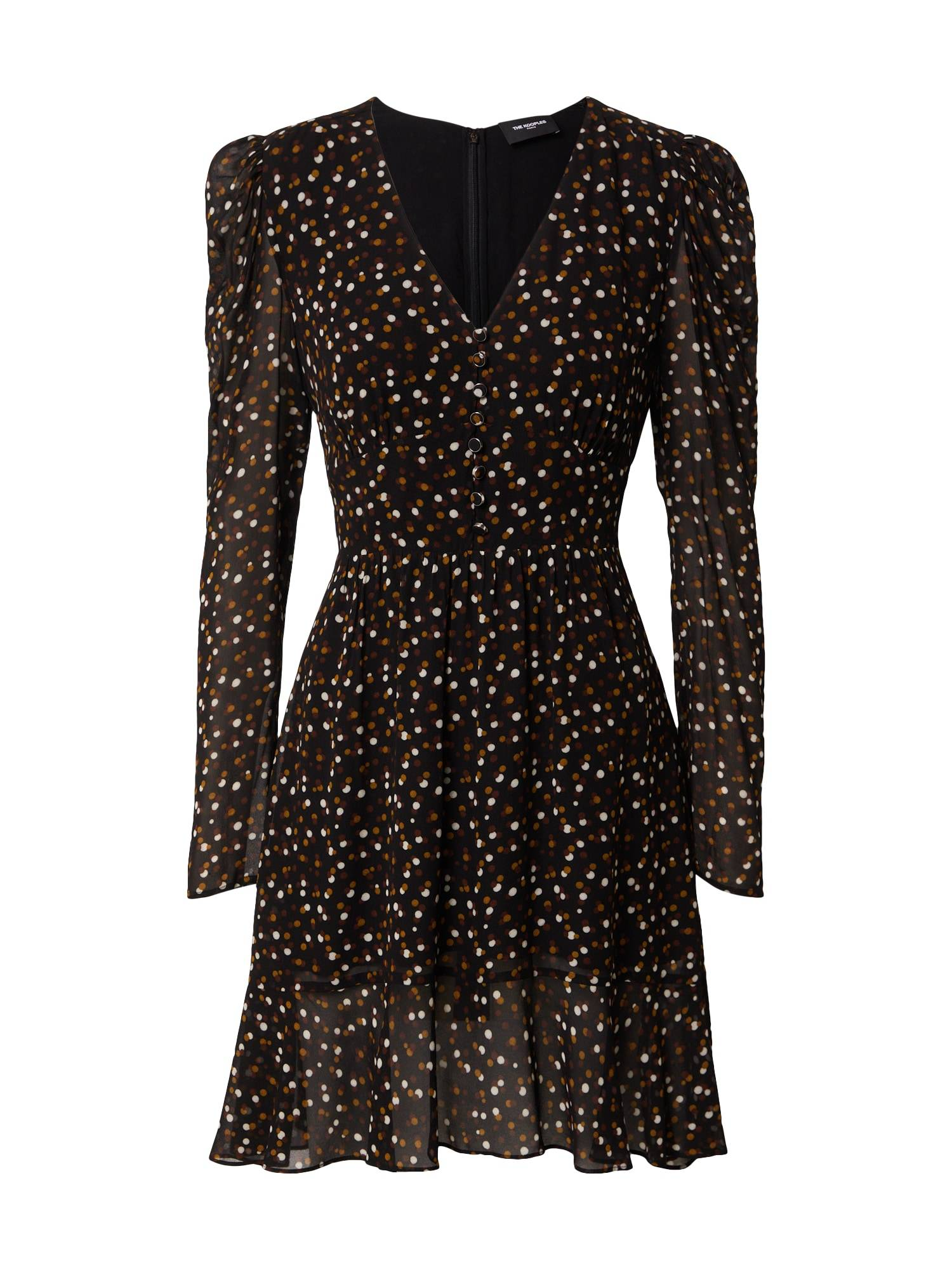 The Kooples Robe  - Noir - Taille: 3 - female