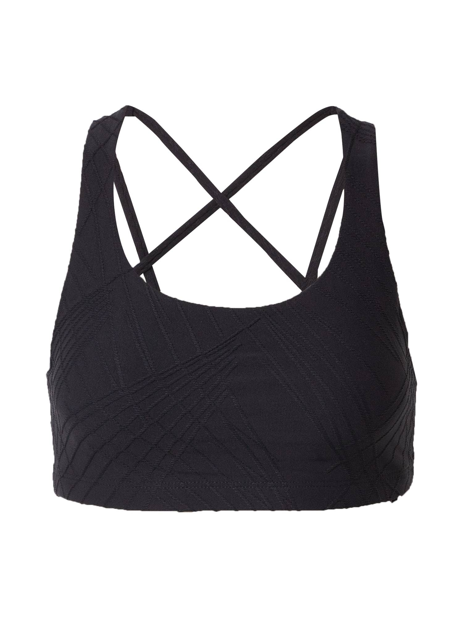 Onzie Soutien-gorge de sport 'Selenite mudra'  - Noir - Taille: M-L - female