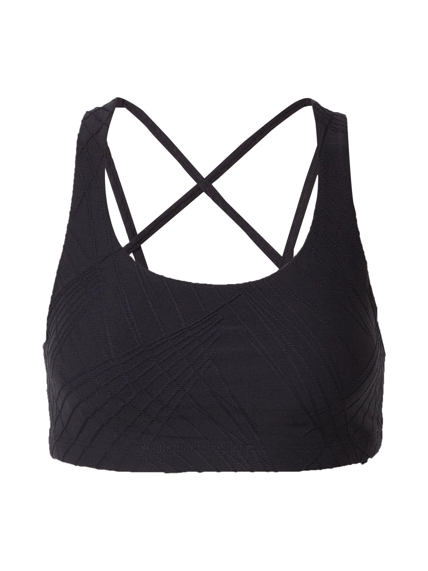 Onzie Soutien-gorge de sport 'Selenite mudra'  - Noir - Taille: L - female
